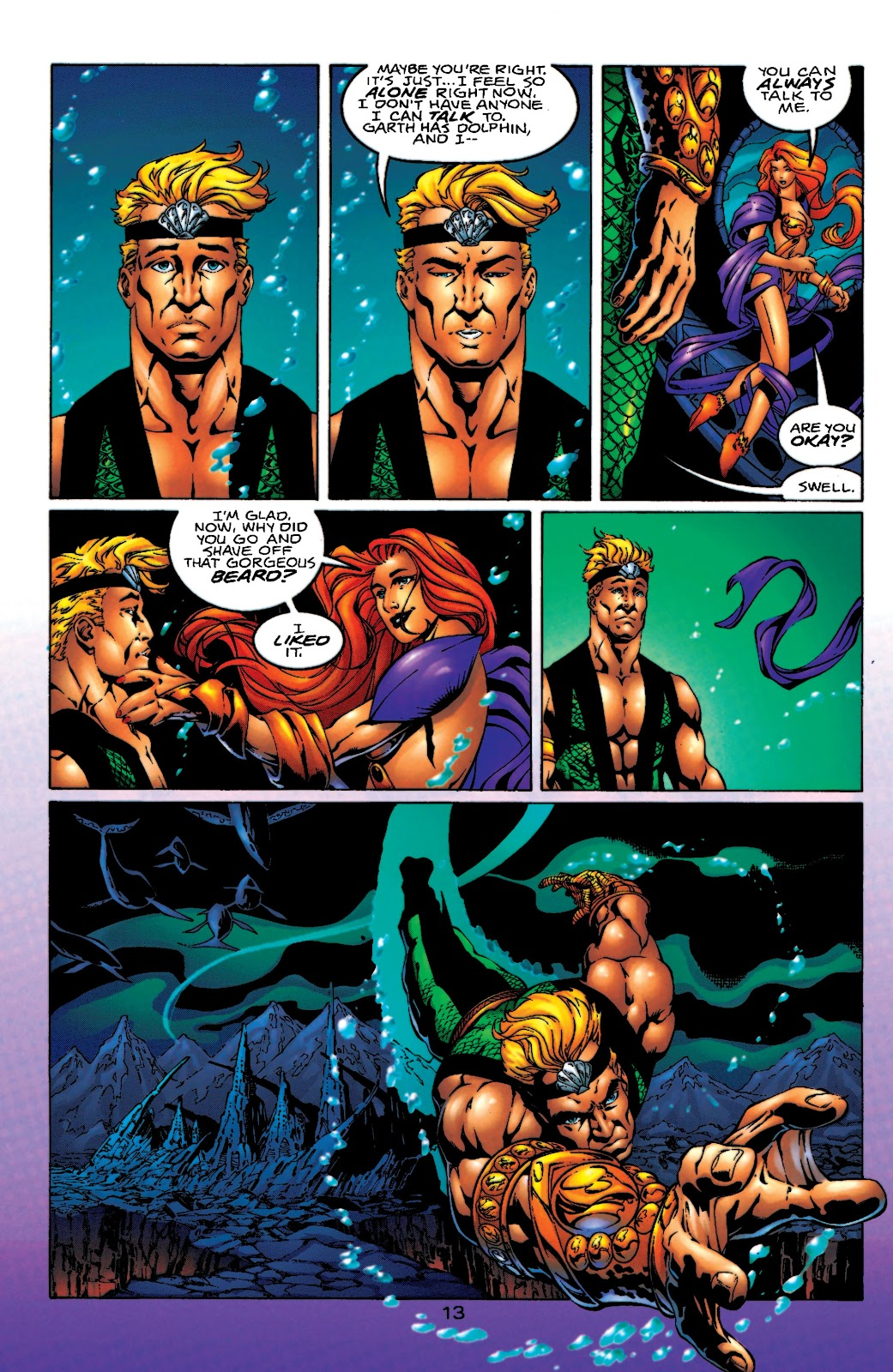 Aquaman (1994) Issue #55 #61 - English 14