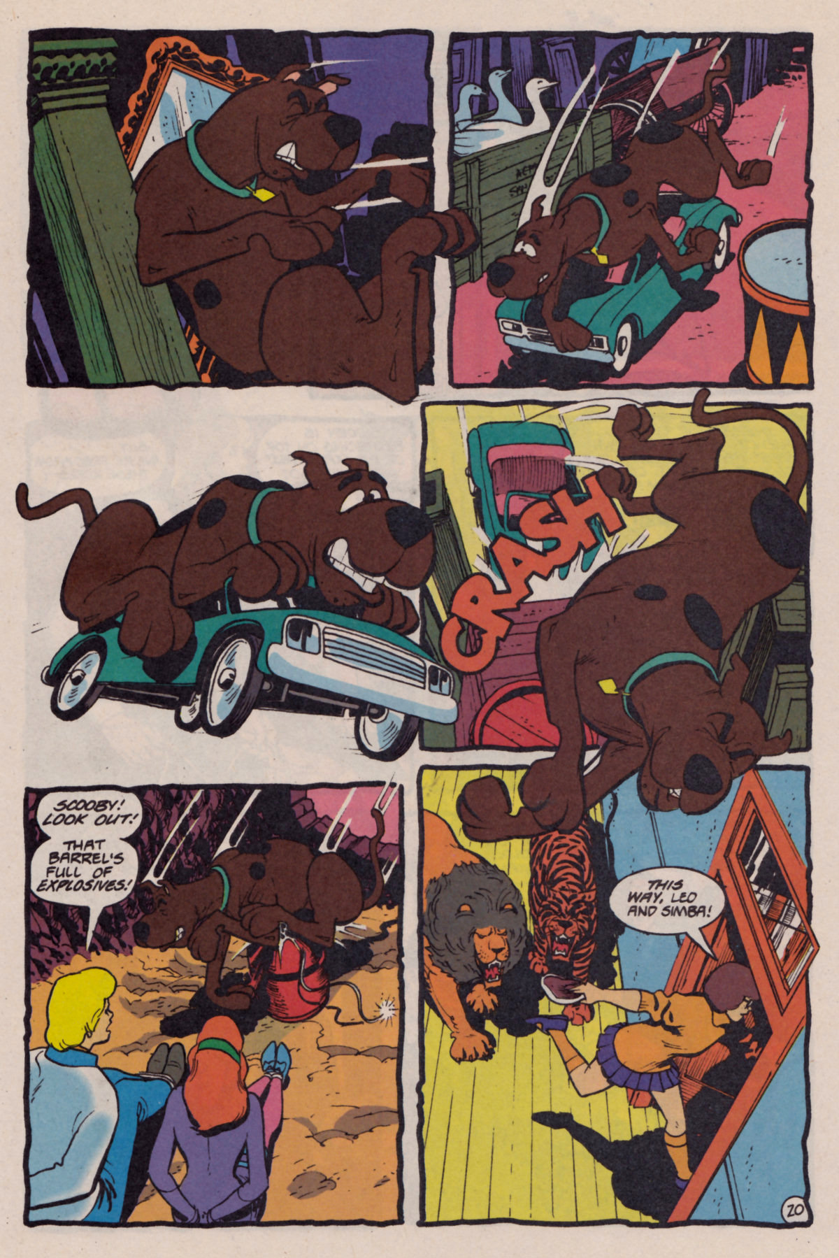 Read online Scooby-Doo (1995) comic -  Issue #10 - 21