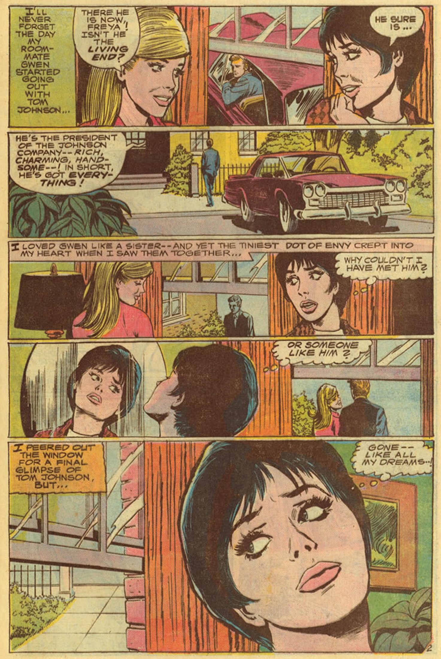 Read online Secret Hearts comic -  Issue #139 - 21