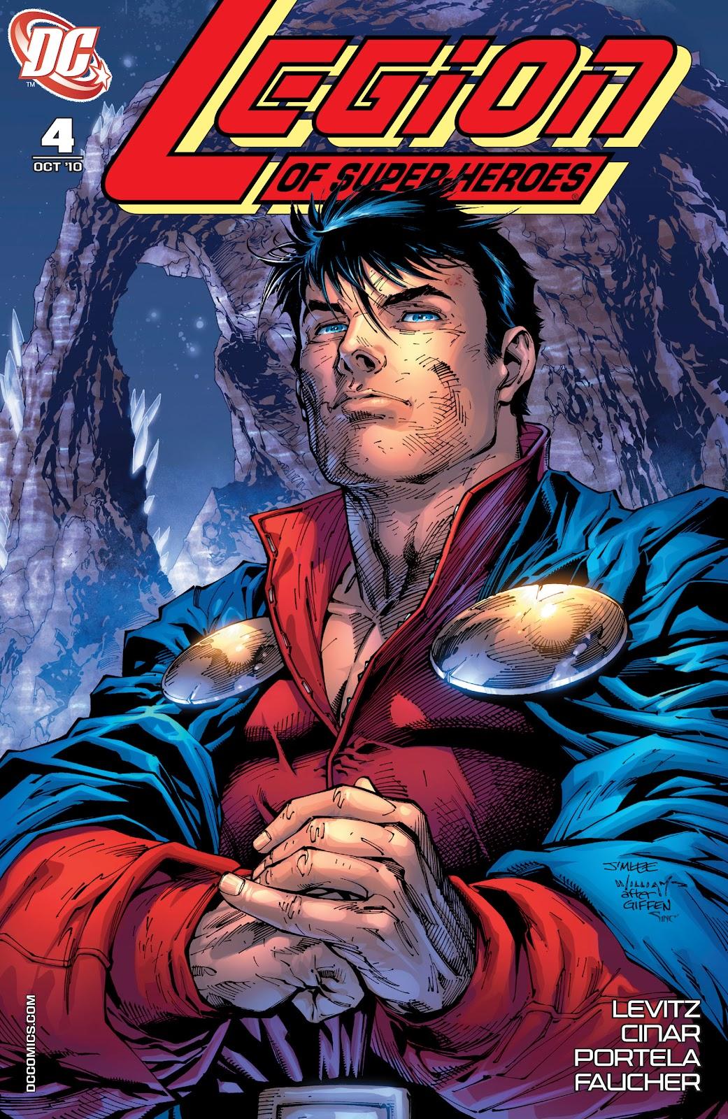 Legion of Super-Heroes (2010) Issue #4 #5 - English 2