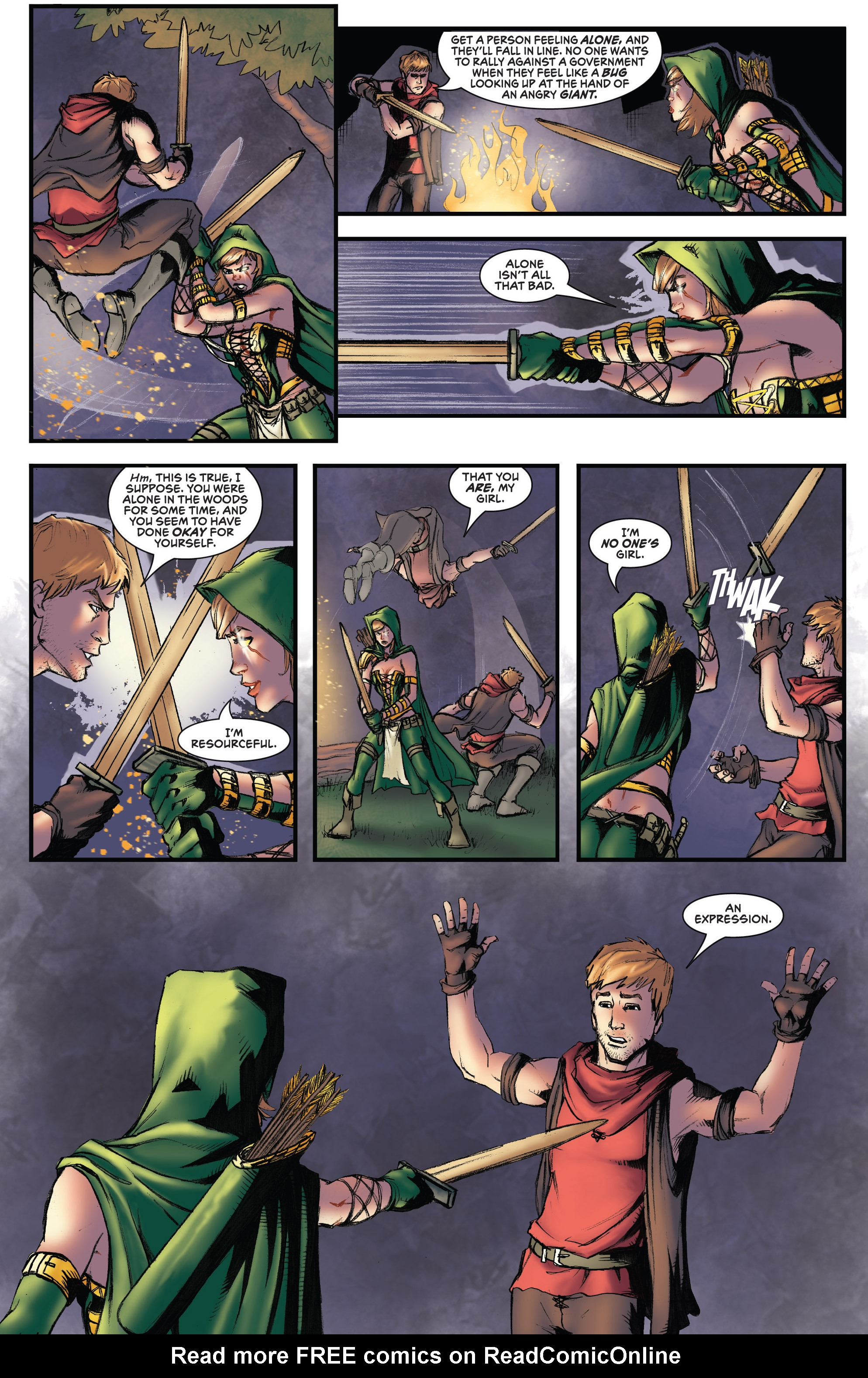 Read online Grimm Fairy Tales presents Robyn Hood (2012) comic -  Issue #3 - 16