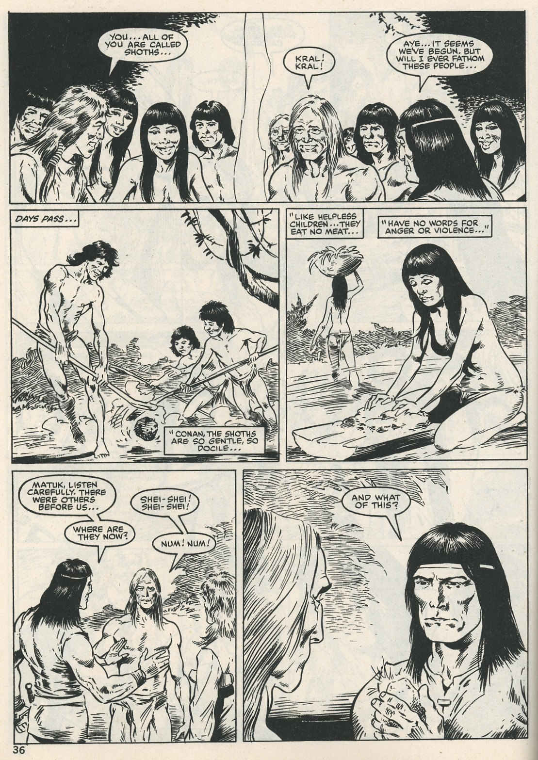 The Savage Sword Of Conan Issue #115 #116 - English 36