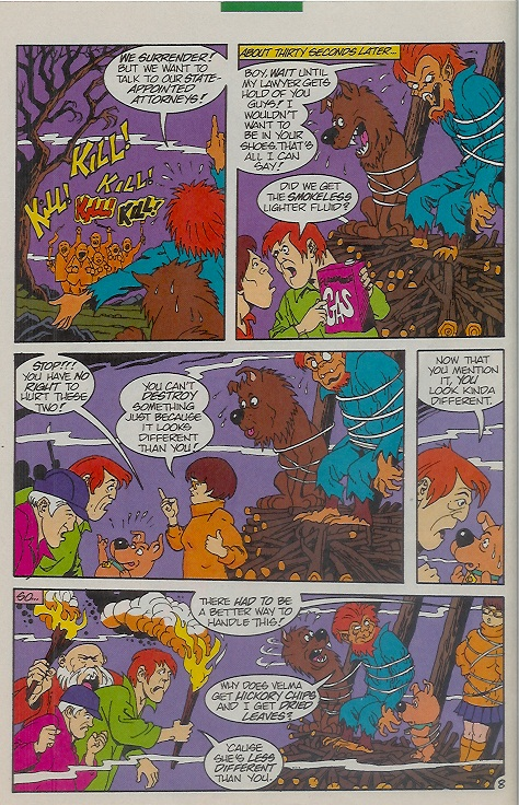 Read online Scooby-Doo (1995) comic -  Issue #9 - 12