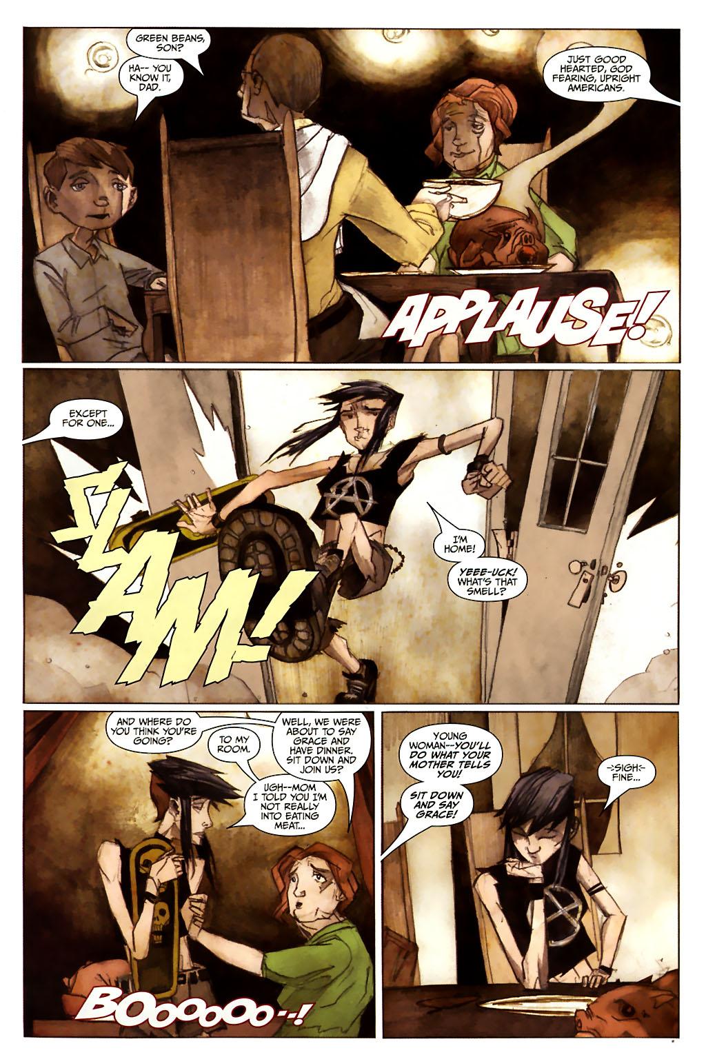 Girl 13 Page 6 #6 - English 15