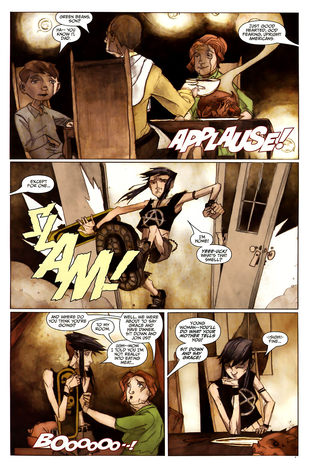 Strange Girl Issue #13 #14 - English 15