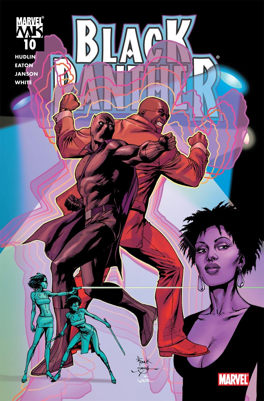 Black Panther (2005) 10 Page 1