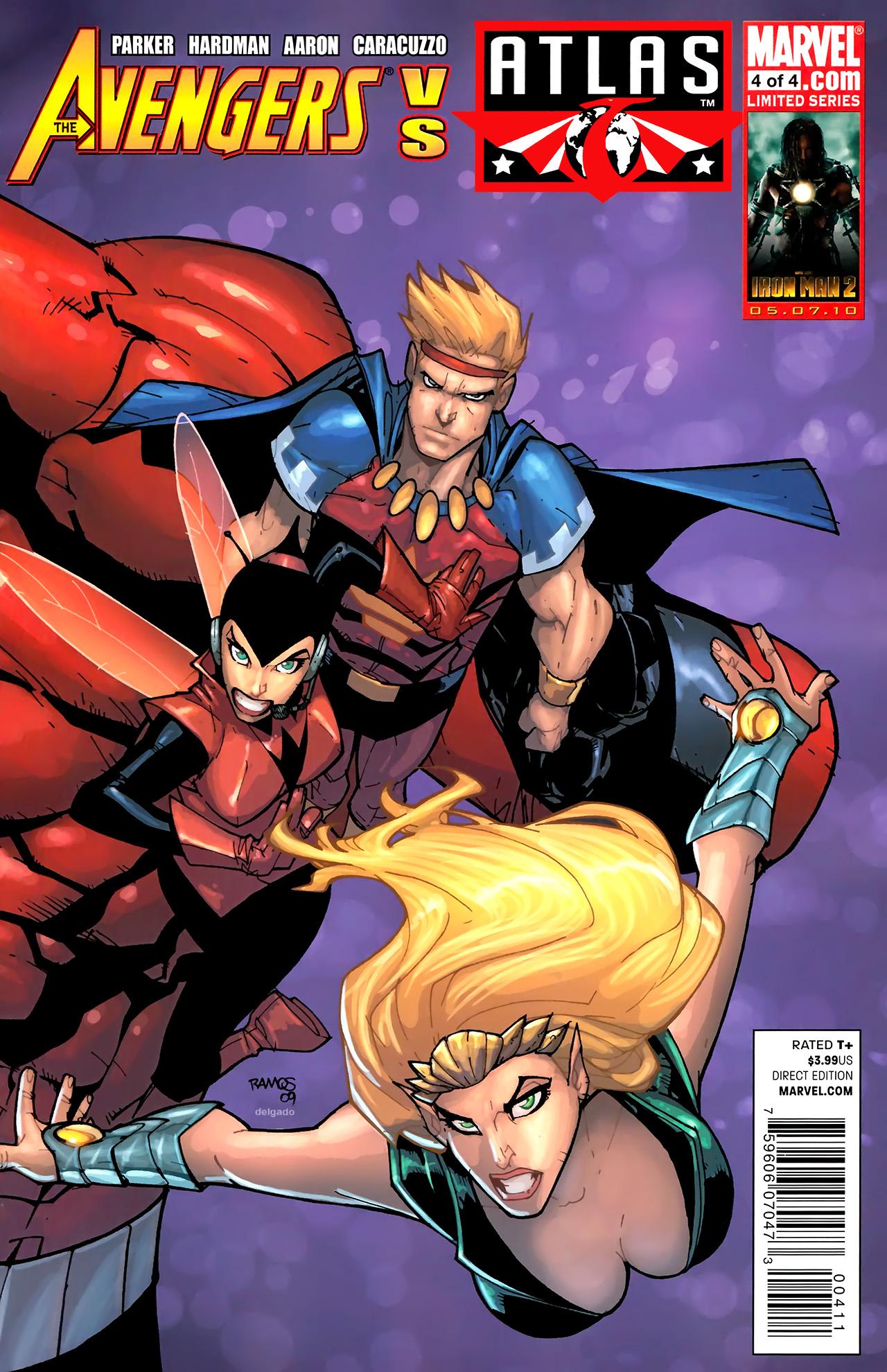 Avengers vs. Atlas 4 Page 1