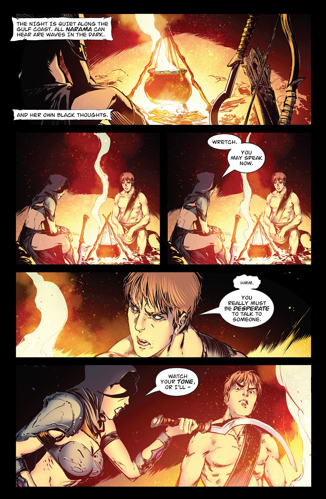 Queen of Vampires Issue #7 #7 - English 3