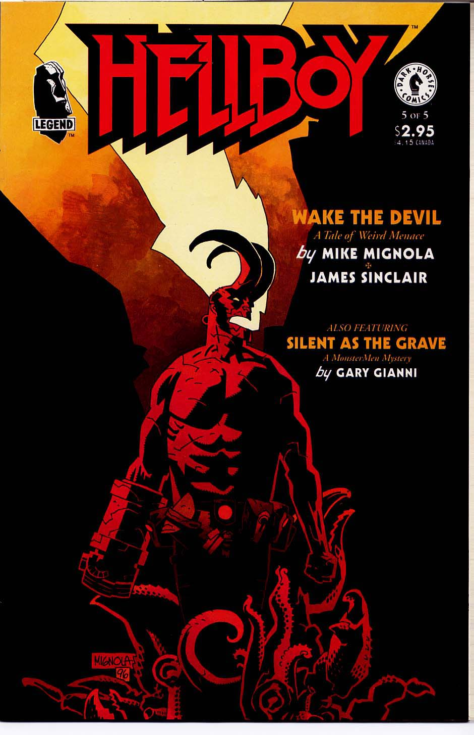 Hellboy: Wake the Devil Issue #5 #5 - English 1