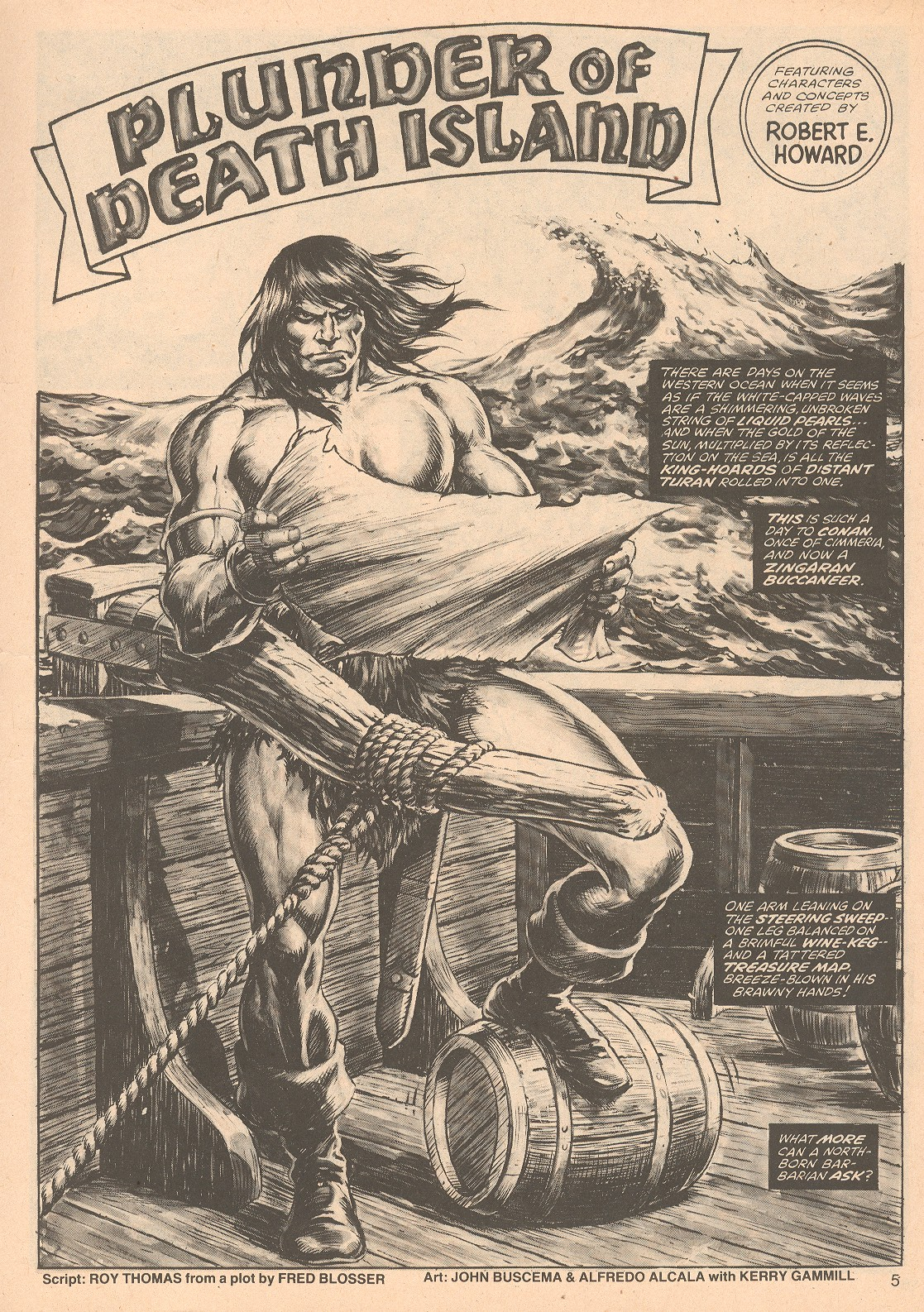 The Savage Sword Of Conan Issue #67 #68 - English 5