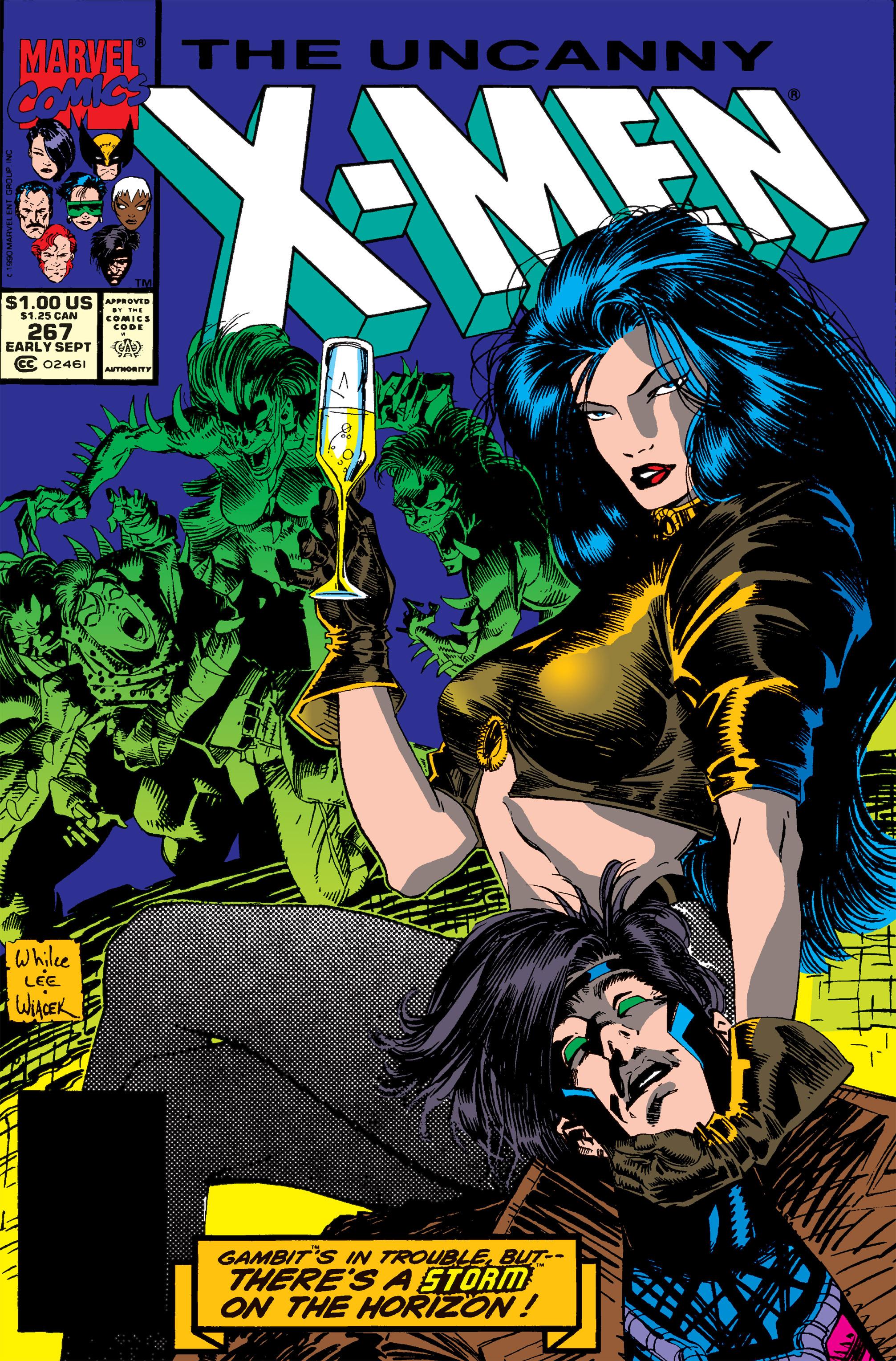 Uncanny X-Men (1963) 267 Page 1