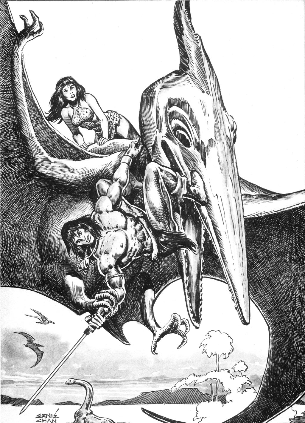The Savage Sword Of Conan Issue #94 #95 - English 59
