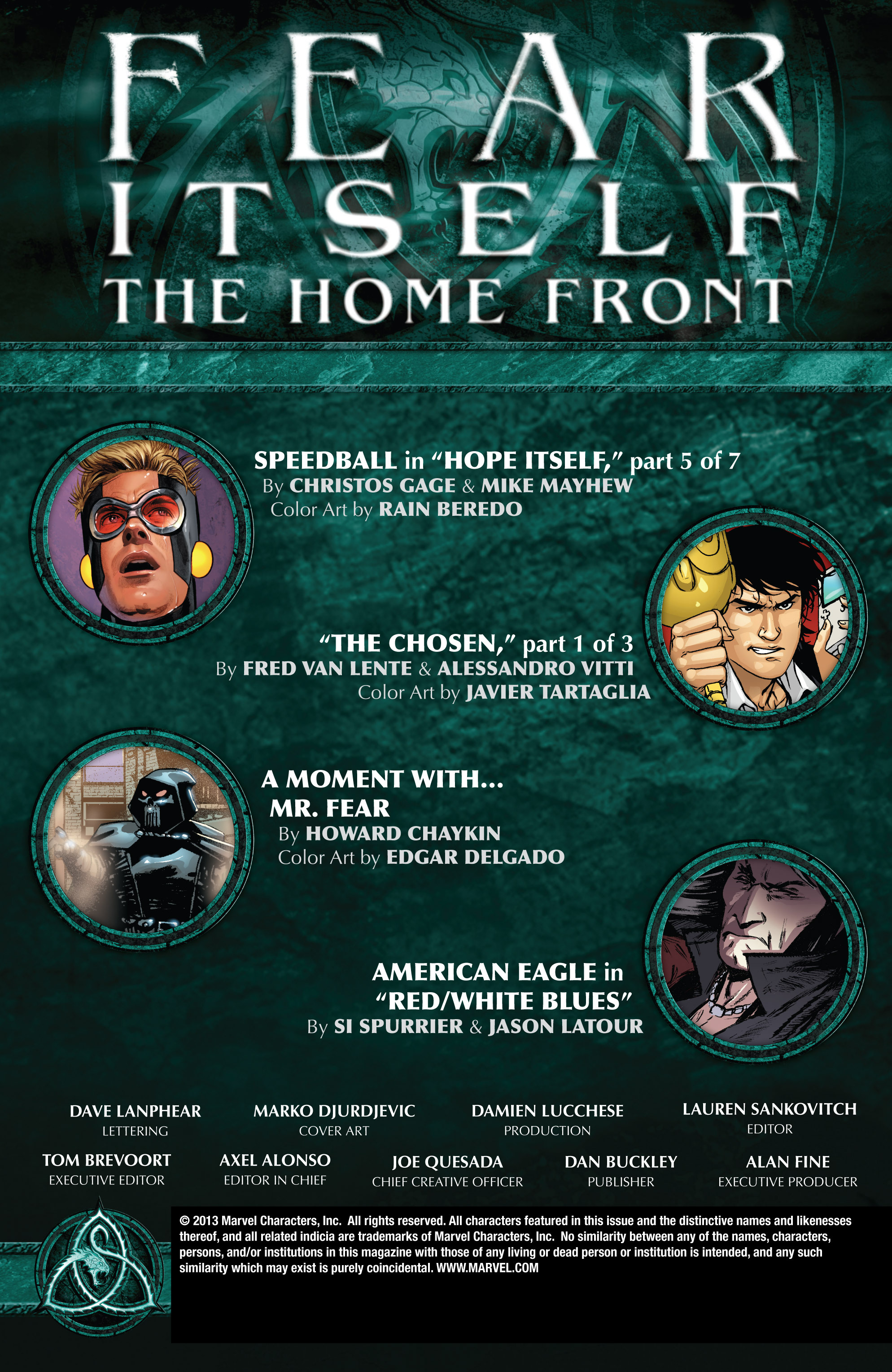 Read online Fear Itself: The Home Front comic -  Issue #5 - 2