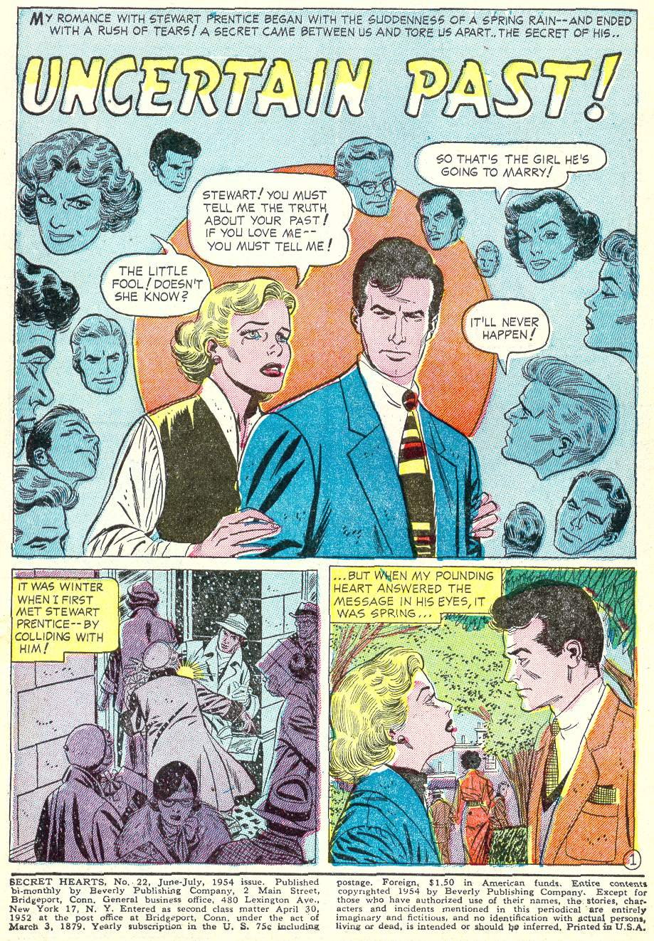 Read online Secret Hearts comic -  Issue #22 - 3