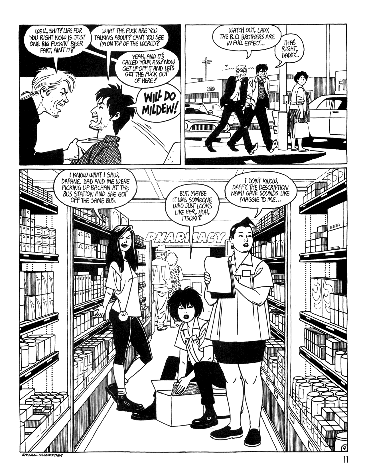 Love and Rockets (1982) #34 #34 - English 13