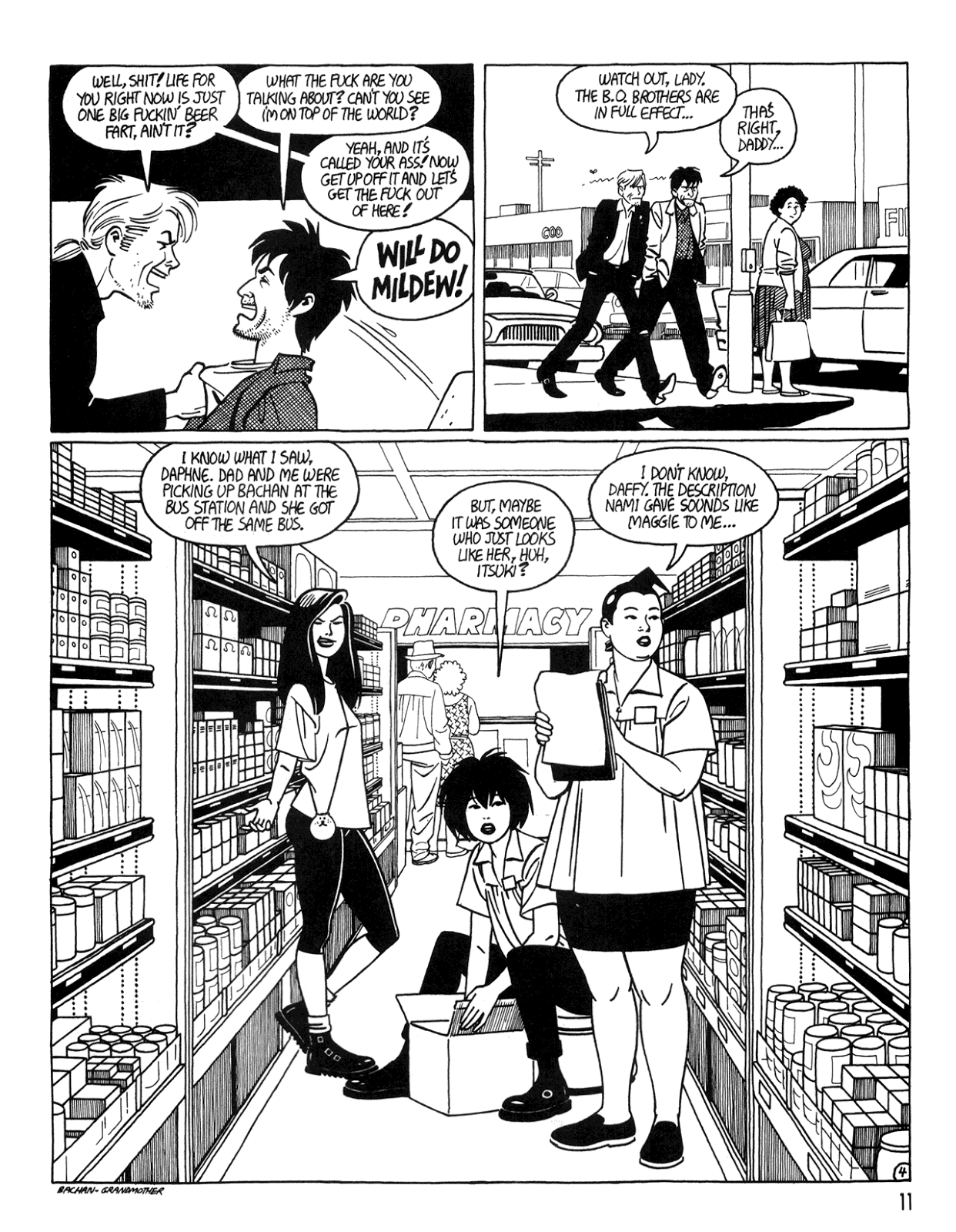 Love and Rockets (1982) Issue #34 #32 - English 13