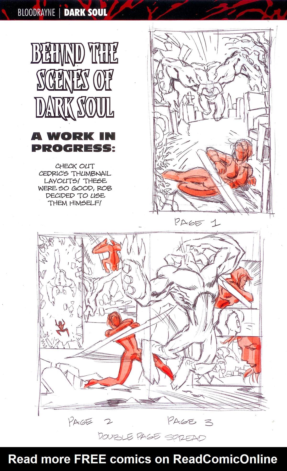 Read online BloodRayne: Dark Soul comic -  Issue # Full - 23
