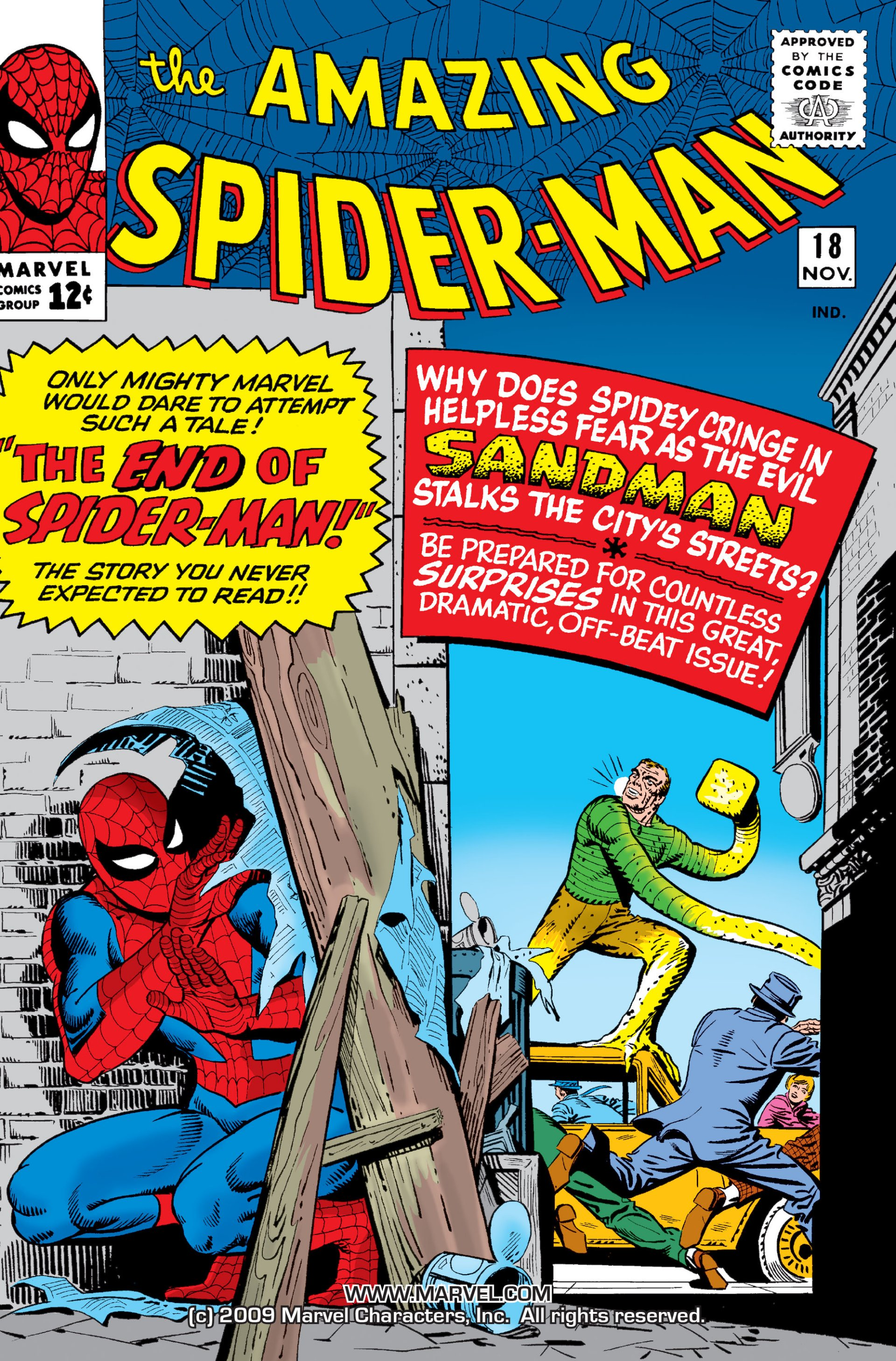 The Amazing Spider-Man (1963) 18 Page 1