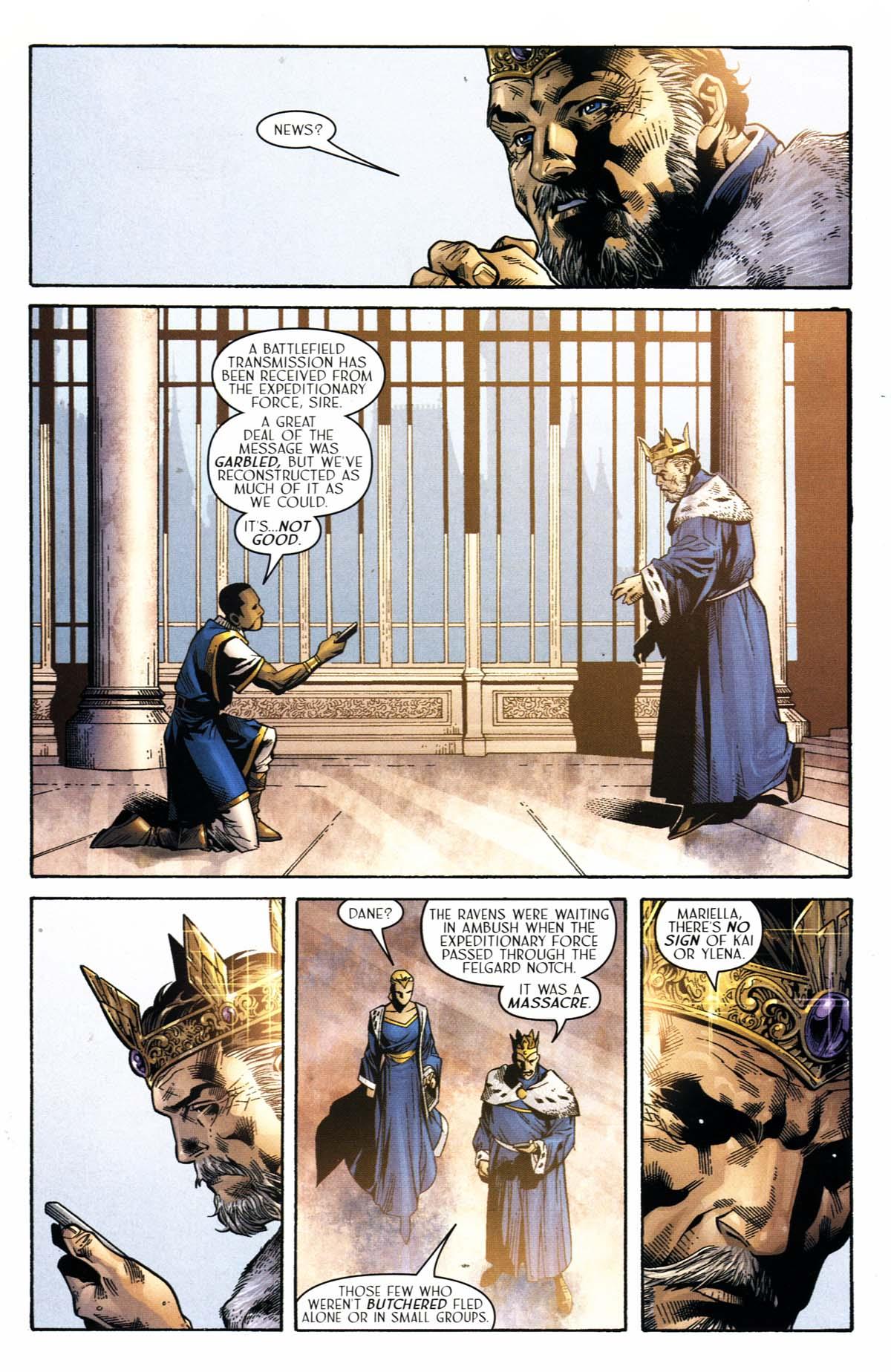 Read online Scion comic -  Issue #23 - 4