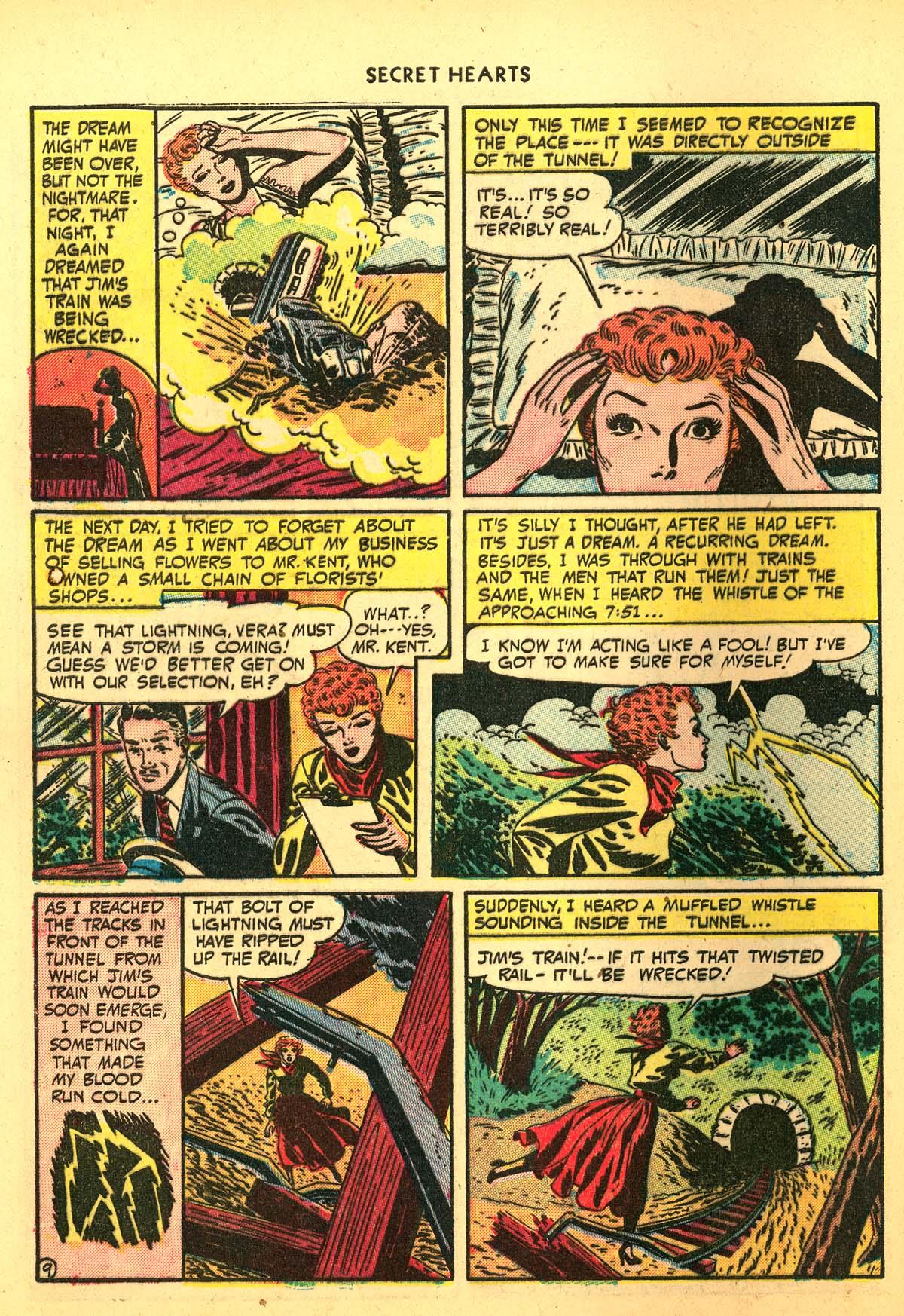 Read online Secret Hearts comic -  Issue #4 - 48