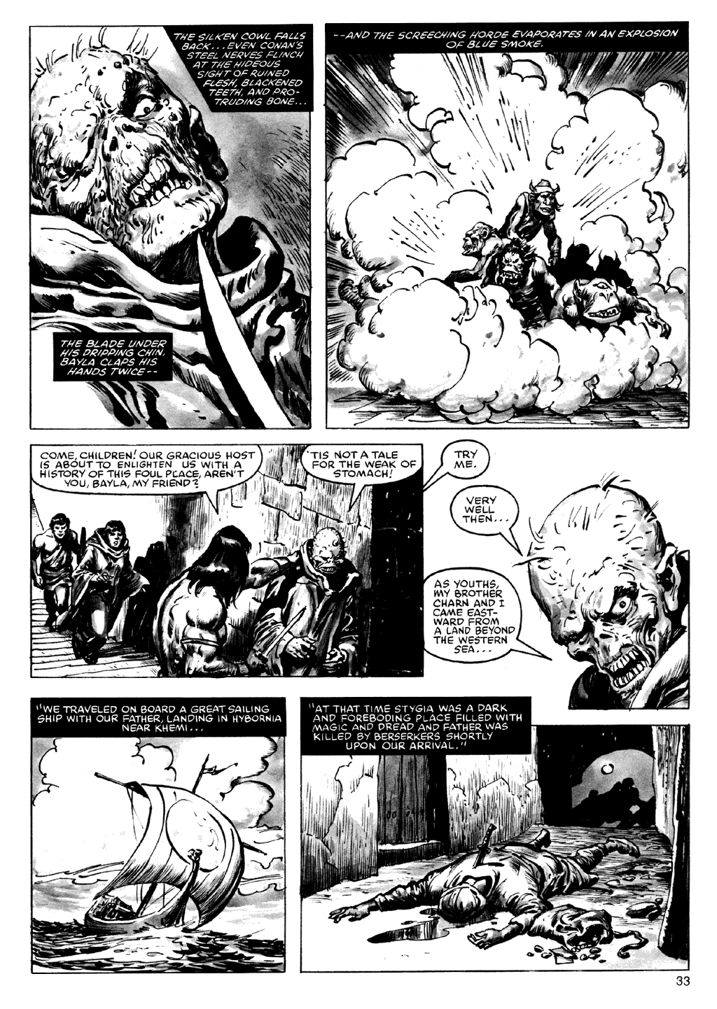 Of Conan  #164 - English 33