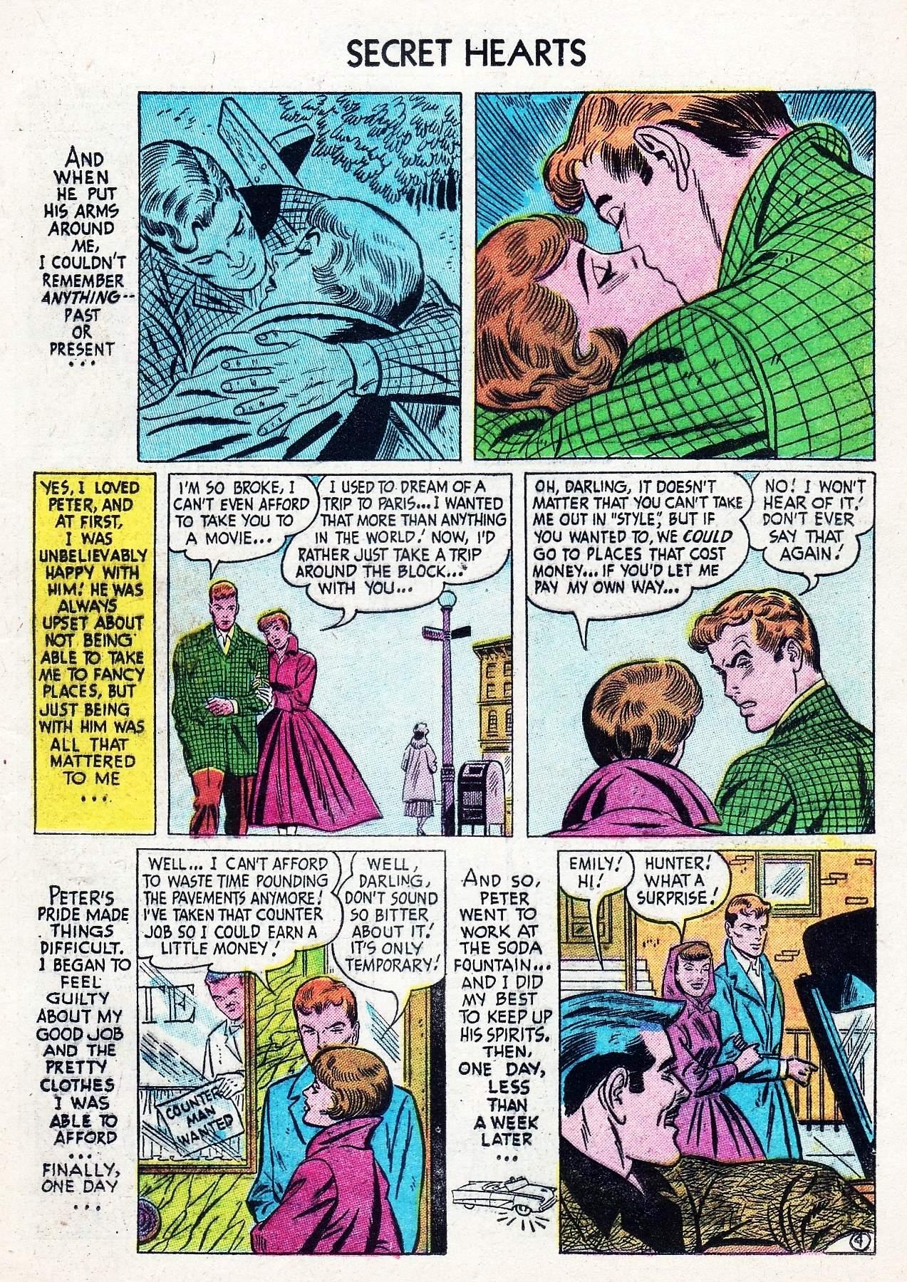 Read online Secret Hearts comic -  Issue #29 - 21