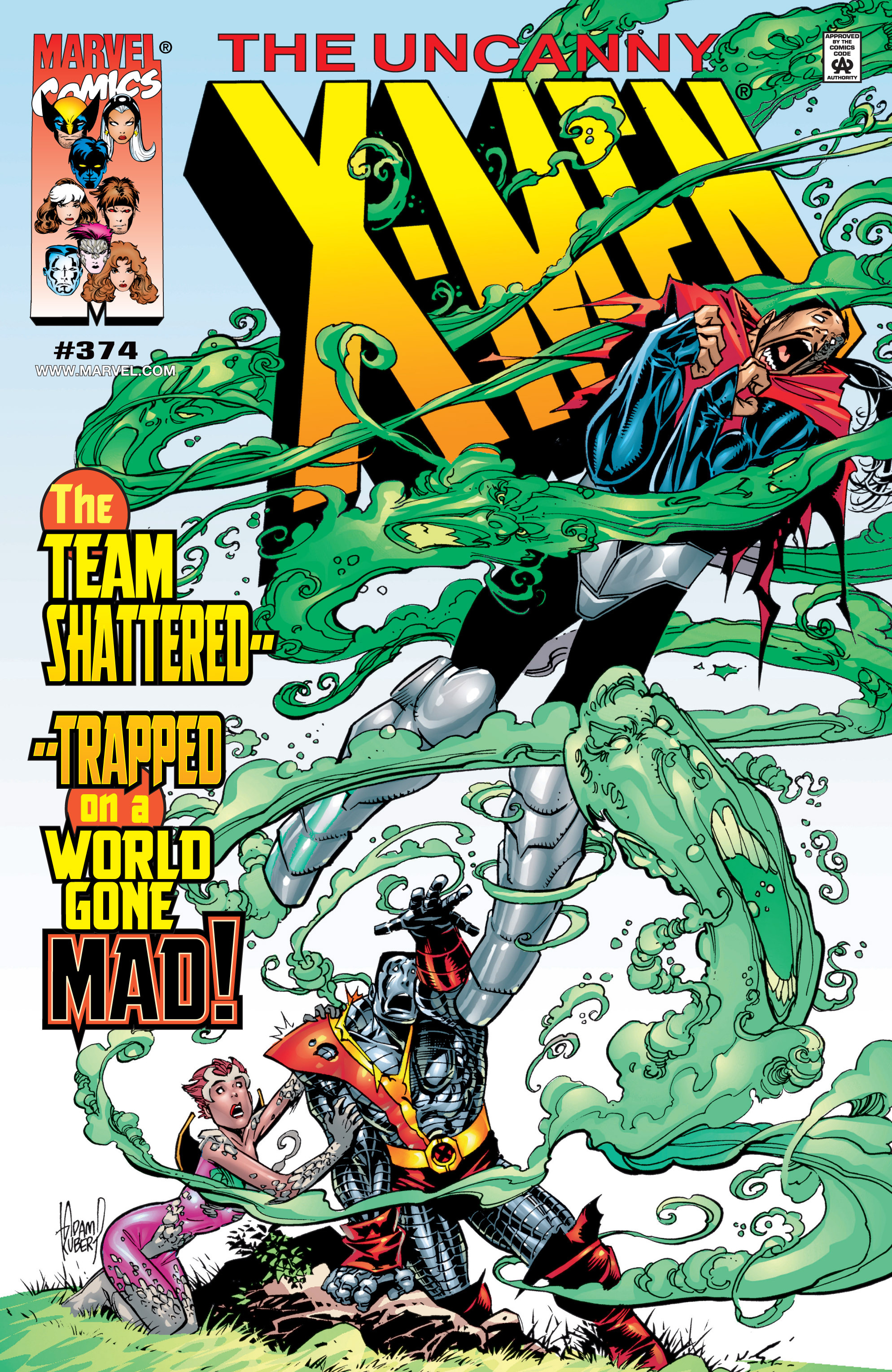 Uncanny X-Men (1963) 374 Page 1