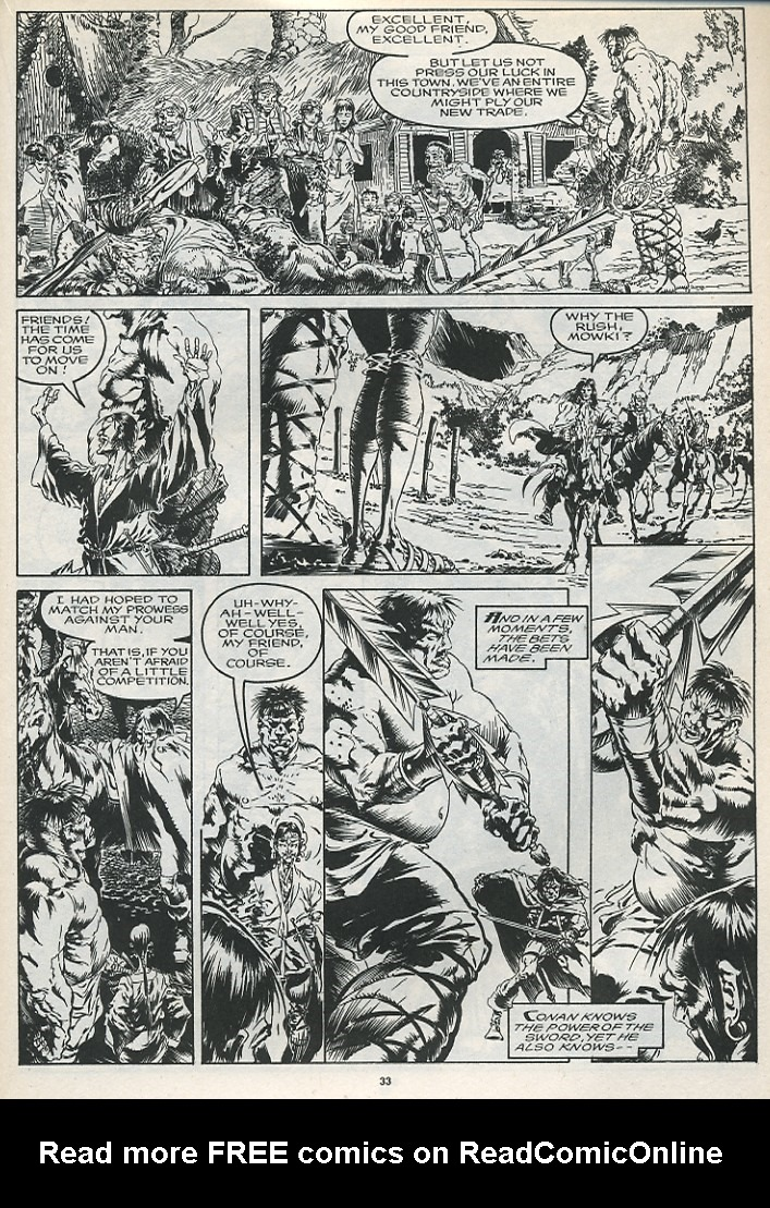 The Savage Sword Of Conan Issue #175 #176 - English 35