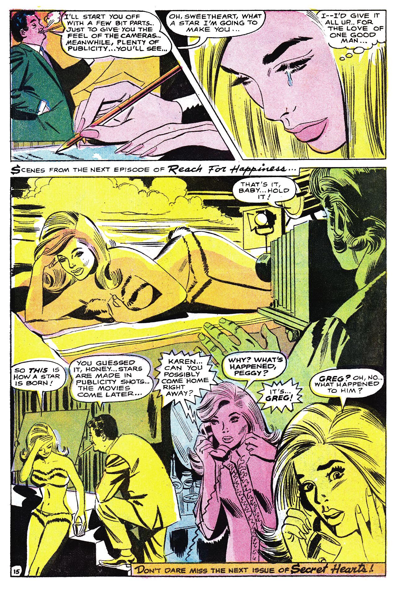 Read online Secret Hearts comic -  Issue #132 - 31