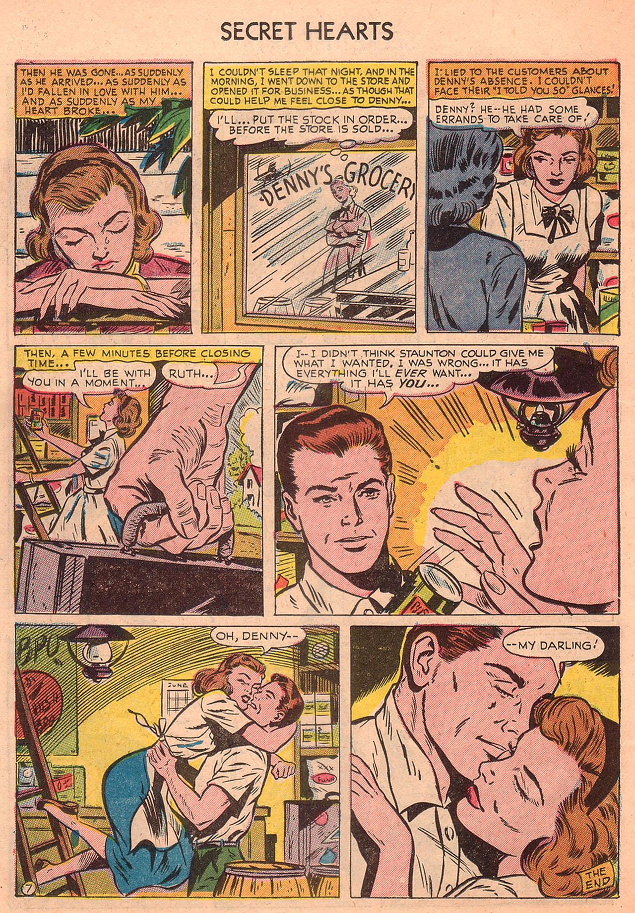 Read online Secret Hearts comic -  Issue #23 - 22