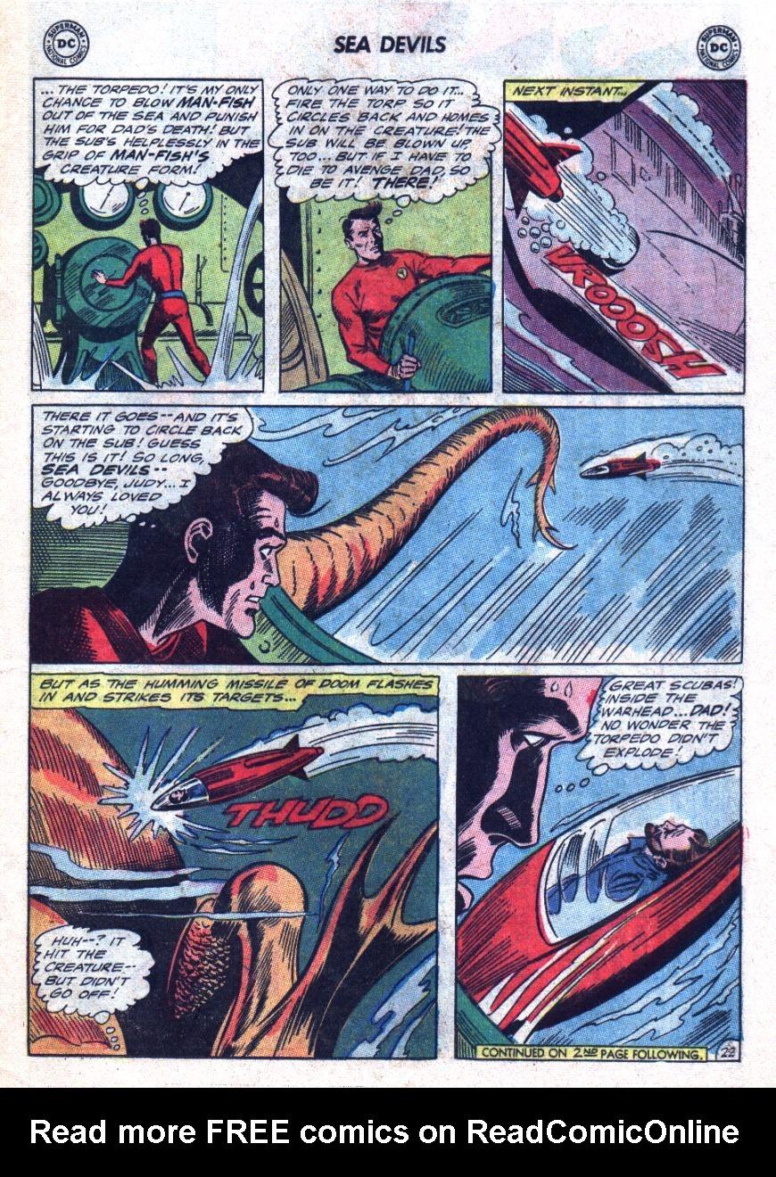 Read online Sea Devils comic -  Issue #24 - 30