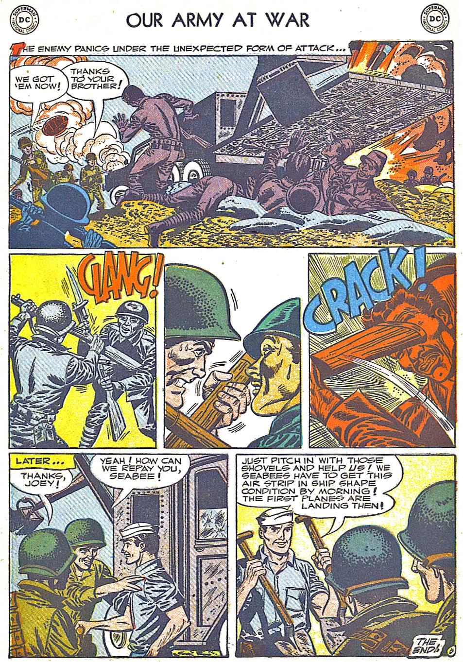 Our Army at War (1952) #1 #301 - English 34