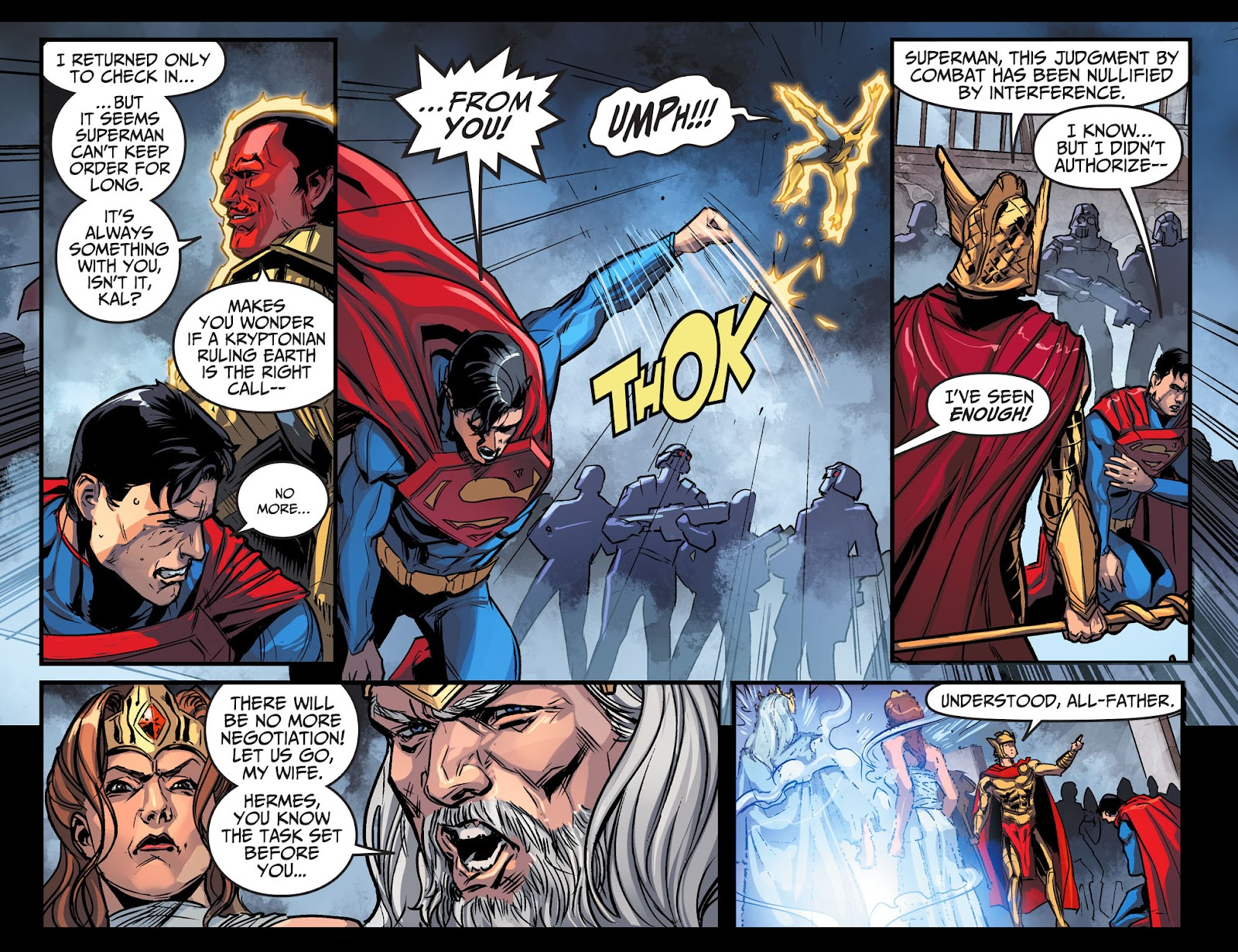 Injustice: Gods Among Us Year Four Issue #10 #11 - English 6