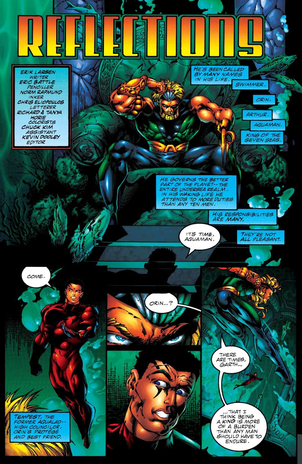 Aquaman (1994) Issue #50 #56 - English 2