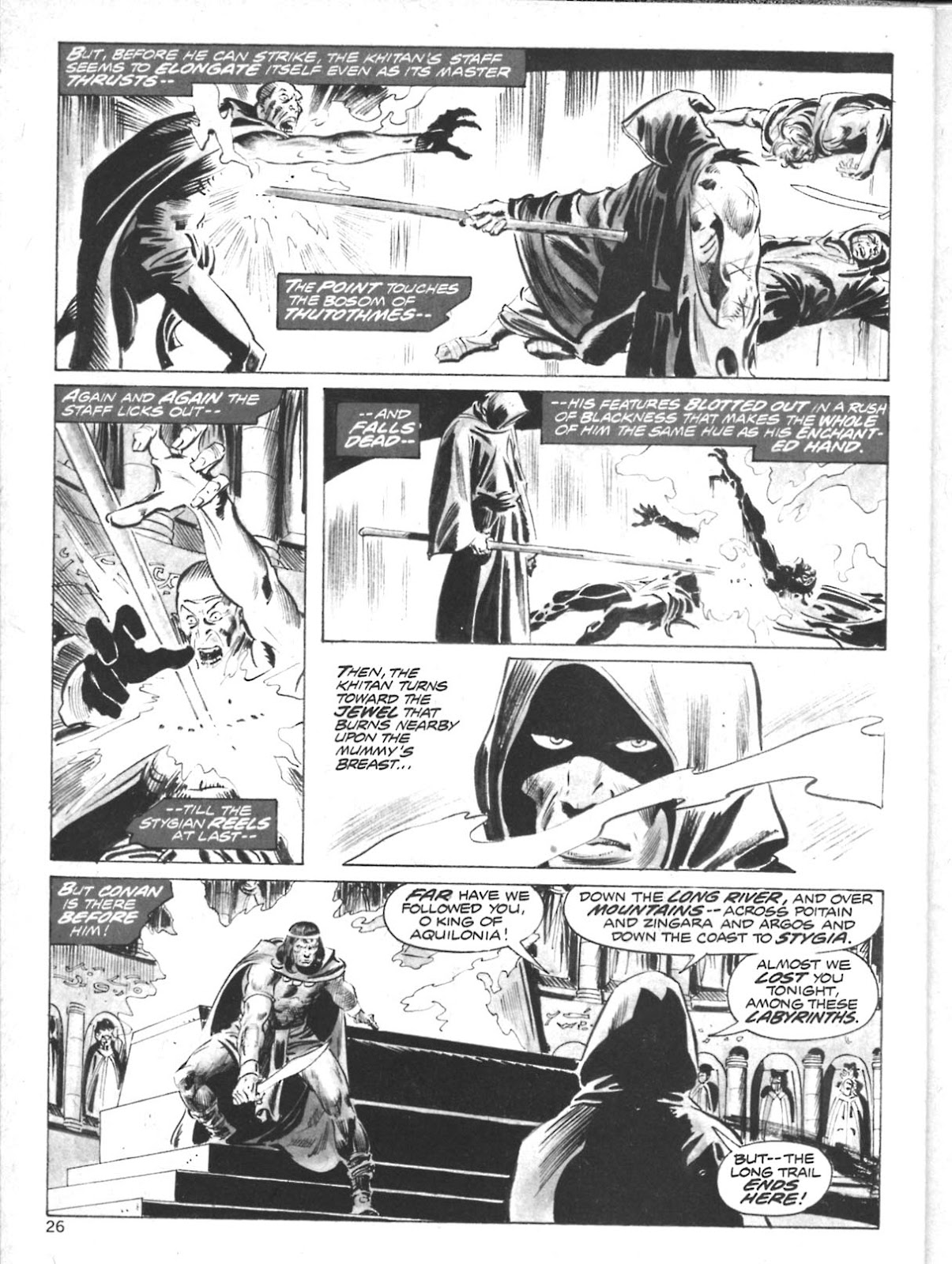 The Savage Sword Of Conan Issue #10 #11 - English 23