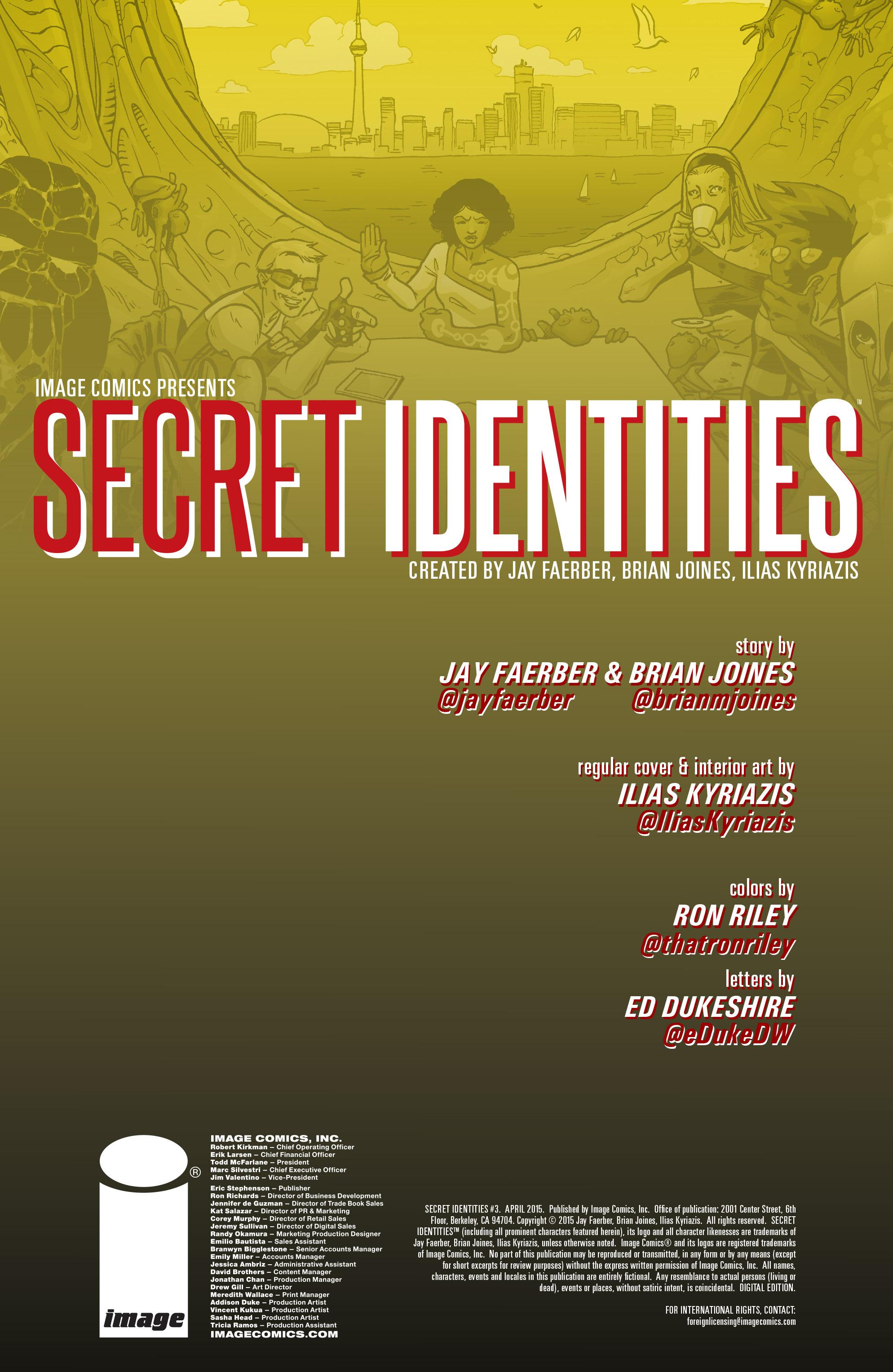 Read online Secret Identities comic -  Issue #3 - 2
