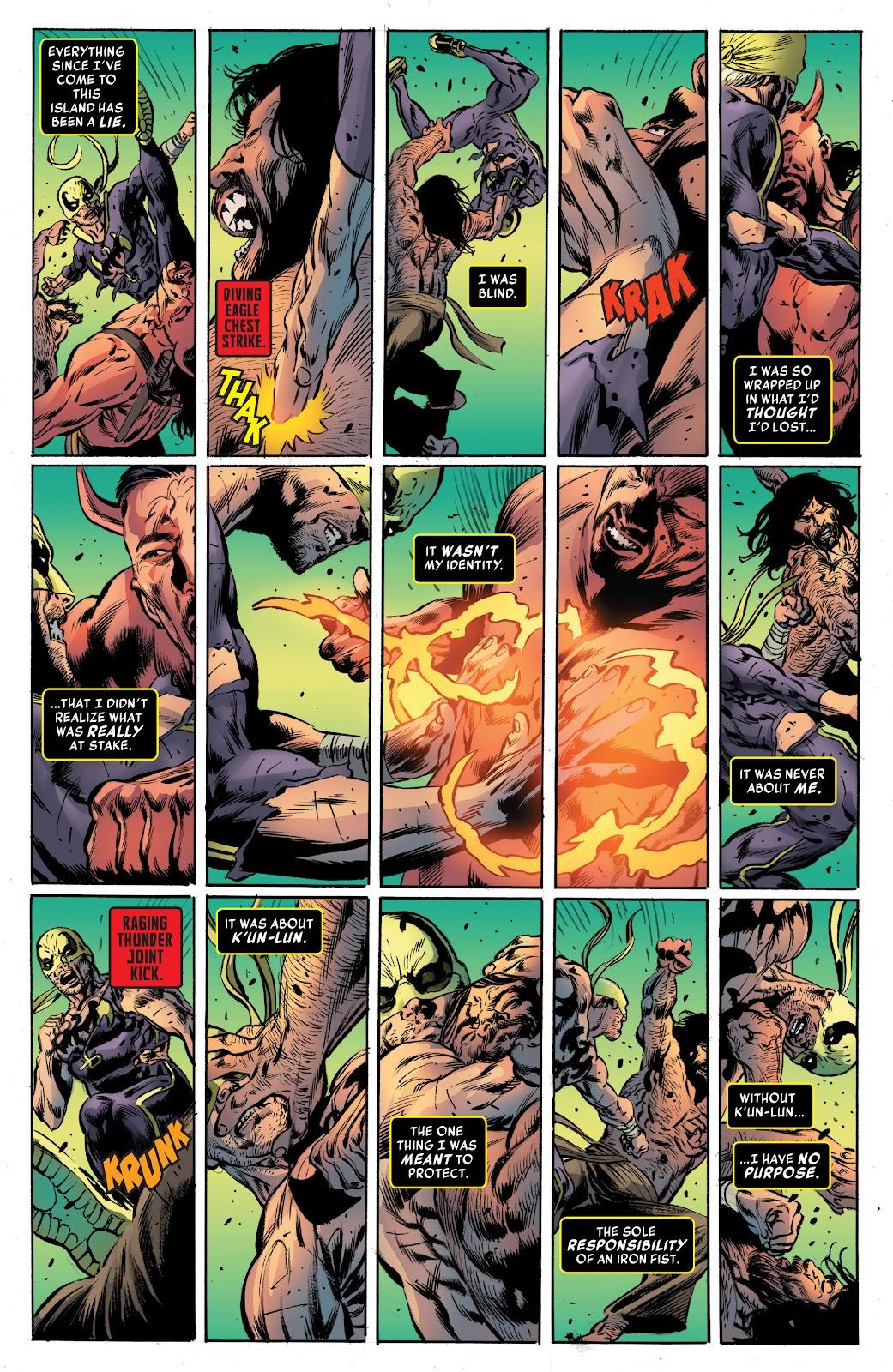 Iron Fist (2017) Issue #4 #4 - English 20