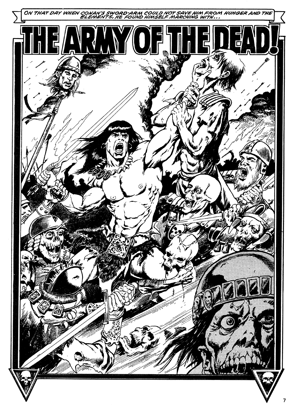 The Savage Sword Of Conan Issue #110 #111 - English 8