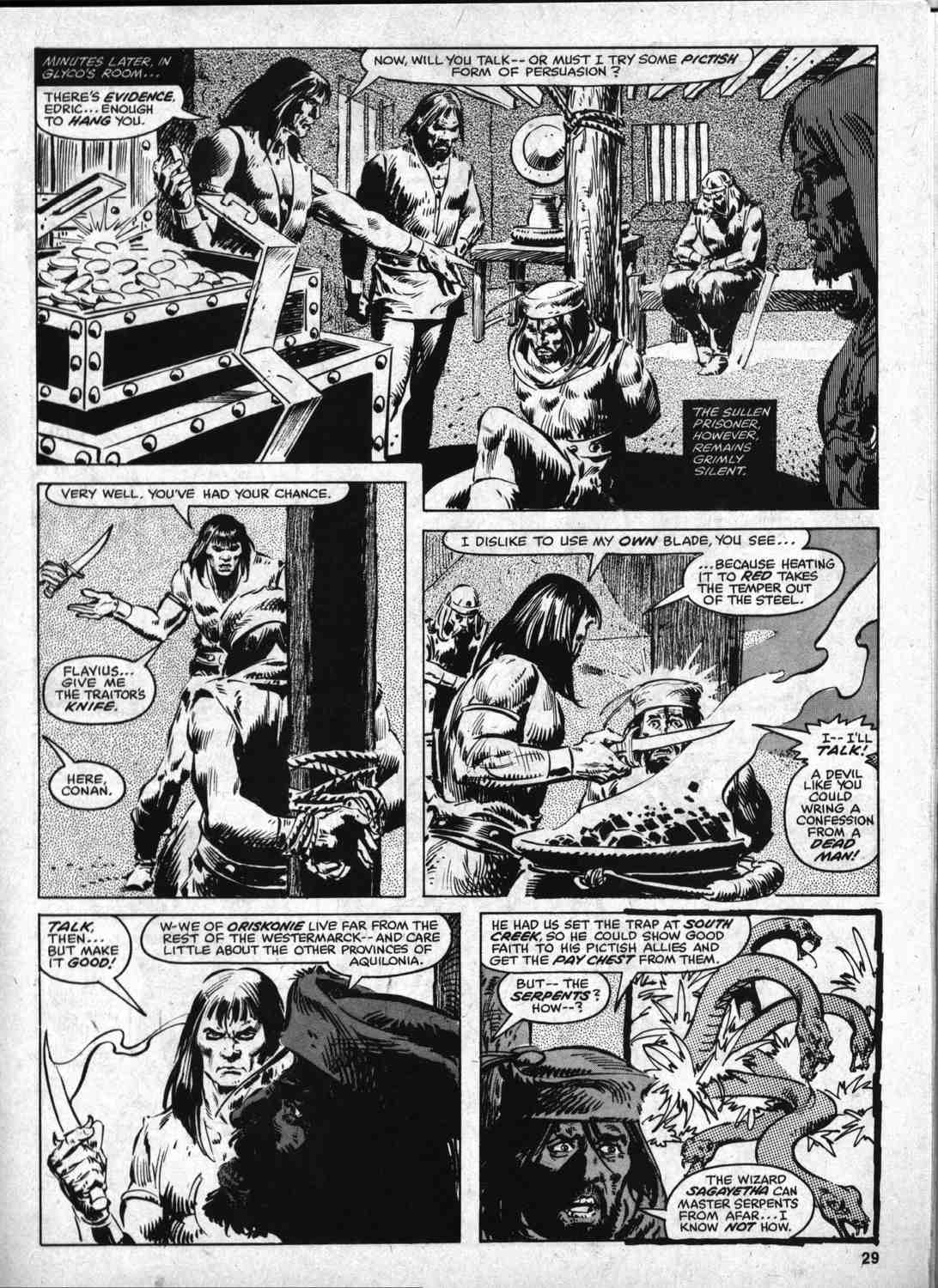 The Savage Sword Of Conan Issue #46 #47 - English 28