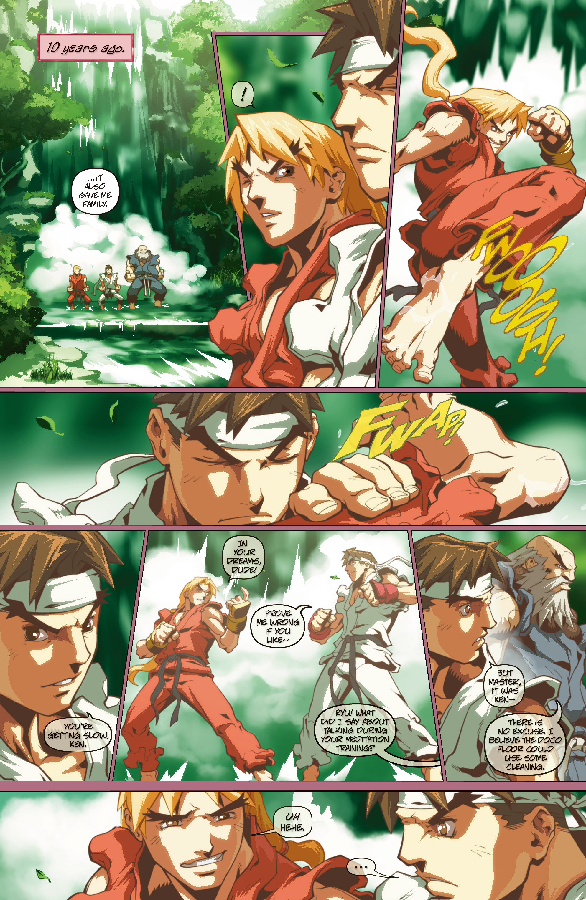 Street Fighter II chap 0 pic 7