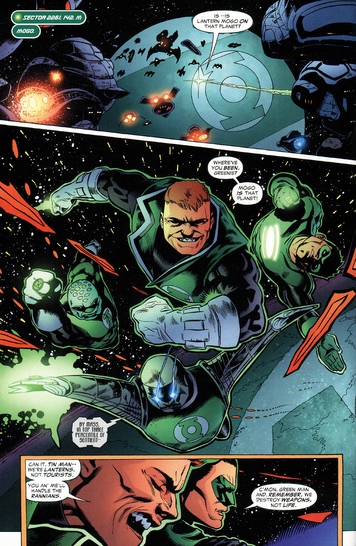 Read online Green Lantern Corps: Recharge comic -  Issue #2 - 7