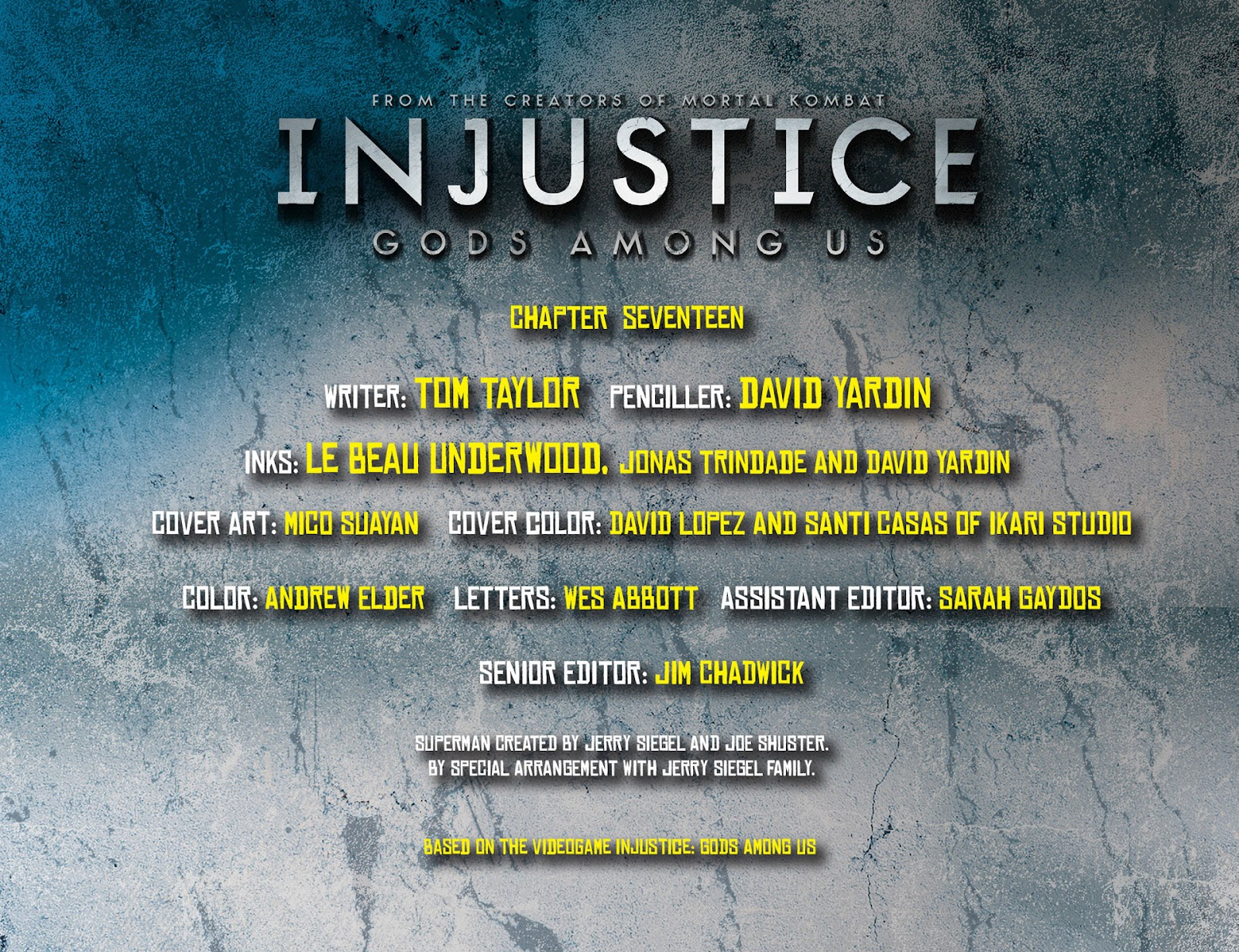 Injustice: Gods Among Us [I] Issue #17 #18 - English 2