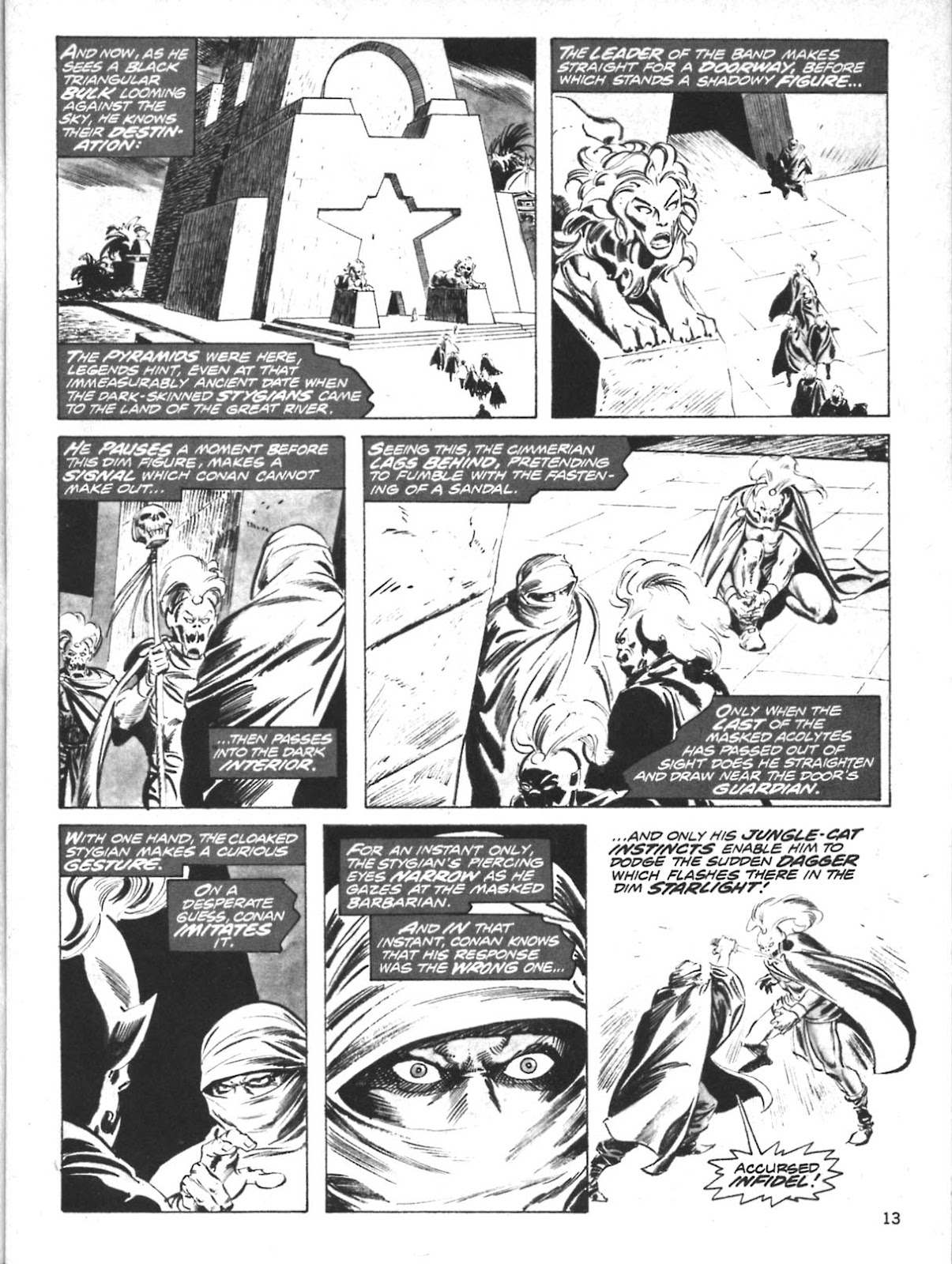 The Savage Sword Of Conan Issue #10 #11 - English 13