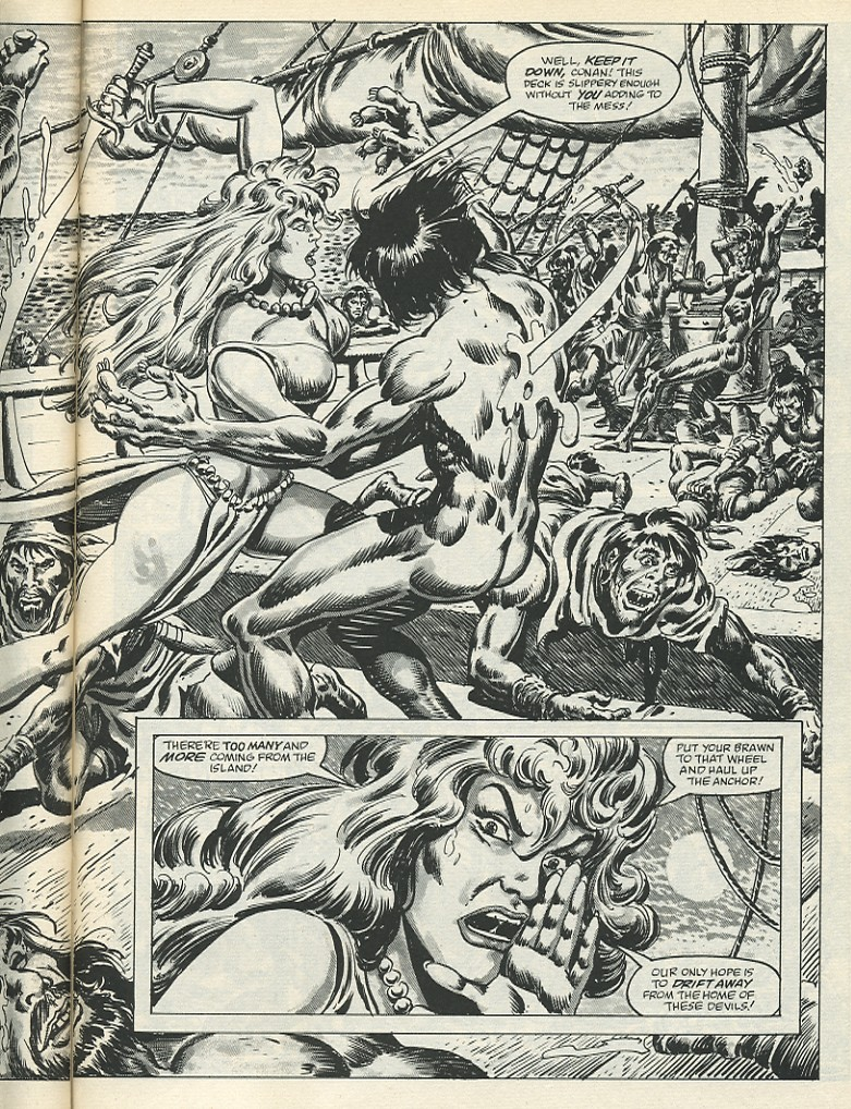 The Savage Sword Of Conan Issue #139 #140 - English 43