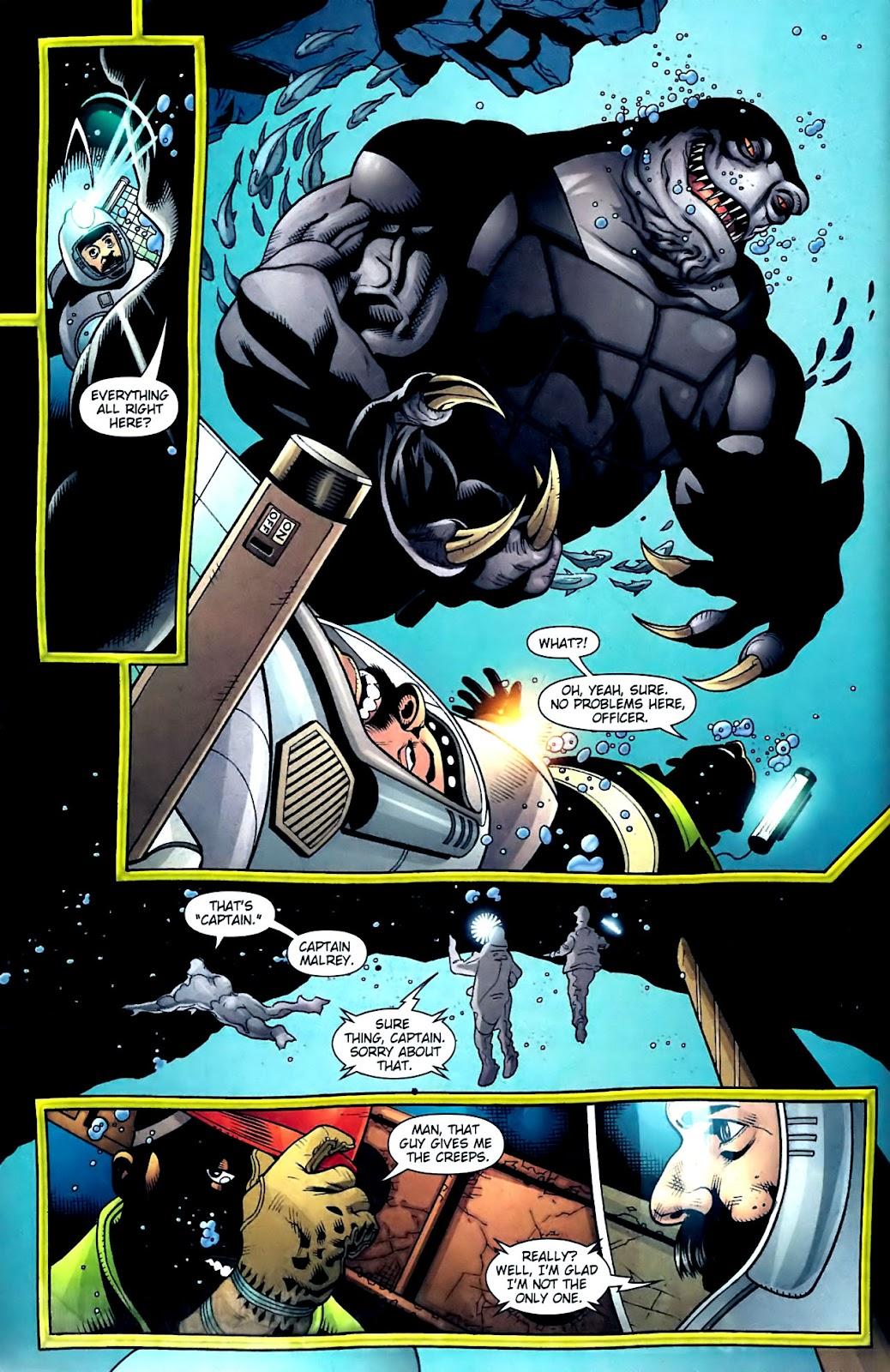 Aquaman (2003) Issue #32 #32 - English 3