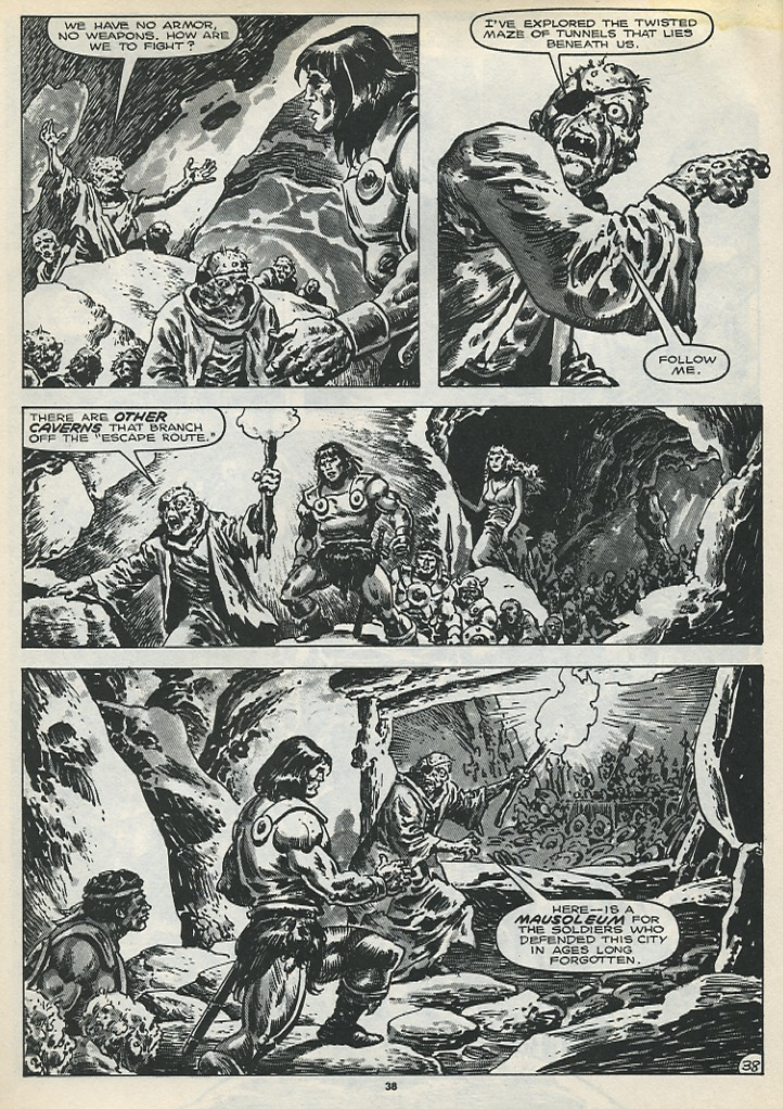 The Savage Sword Of Conan Issue #173 #174 - English 40