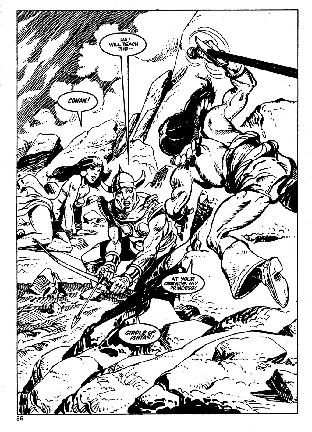 The Savage Sword Of Conan Issue #86 #87 - English 36
