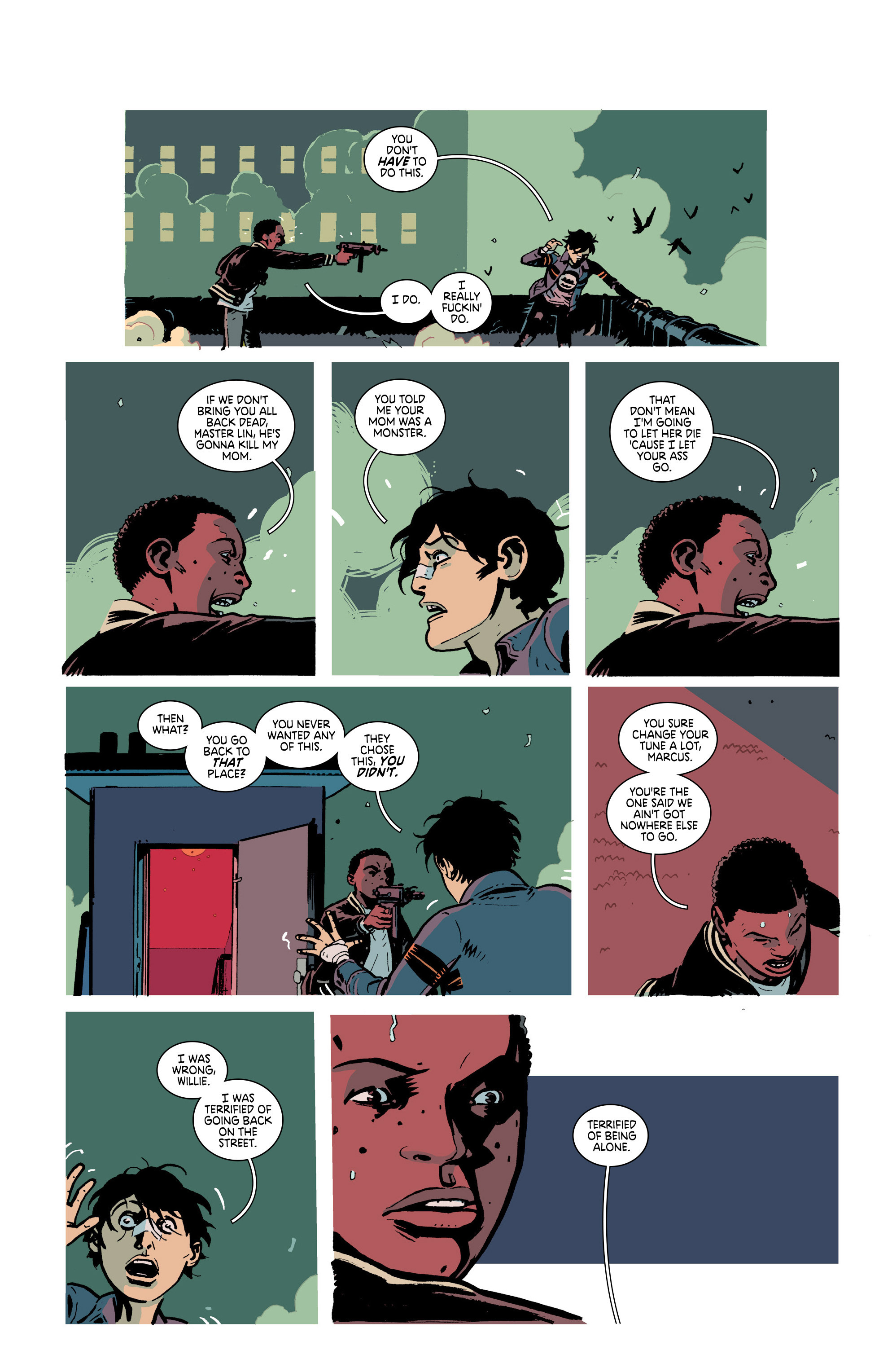 Read online Deadly Class comic -  Issue #21 - 8