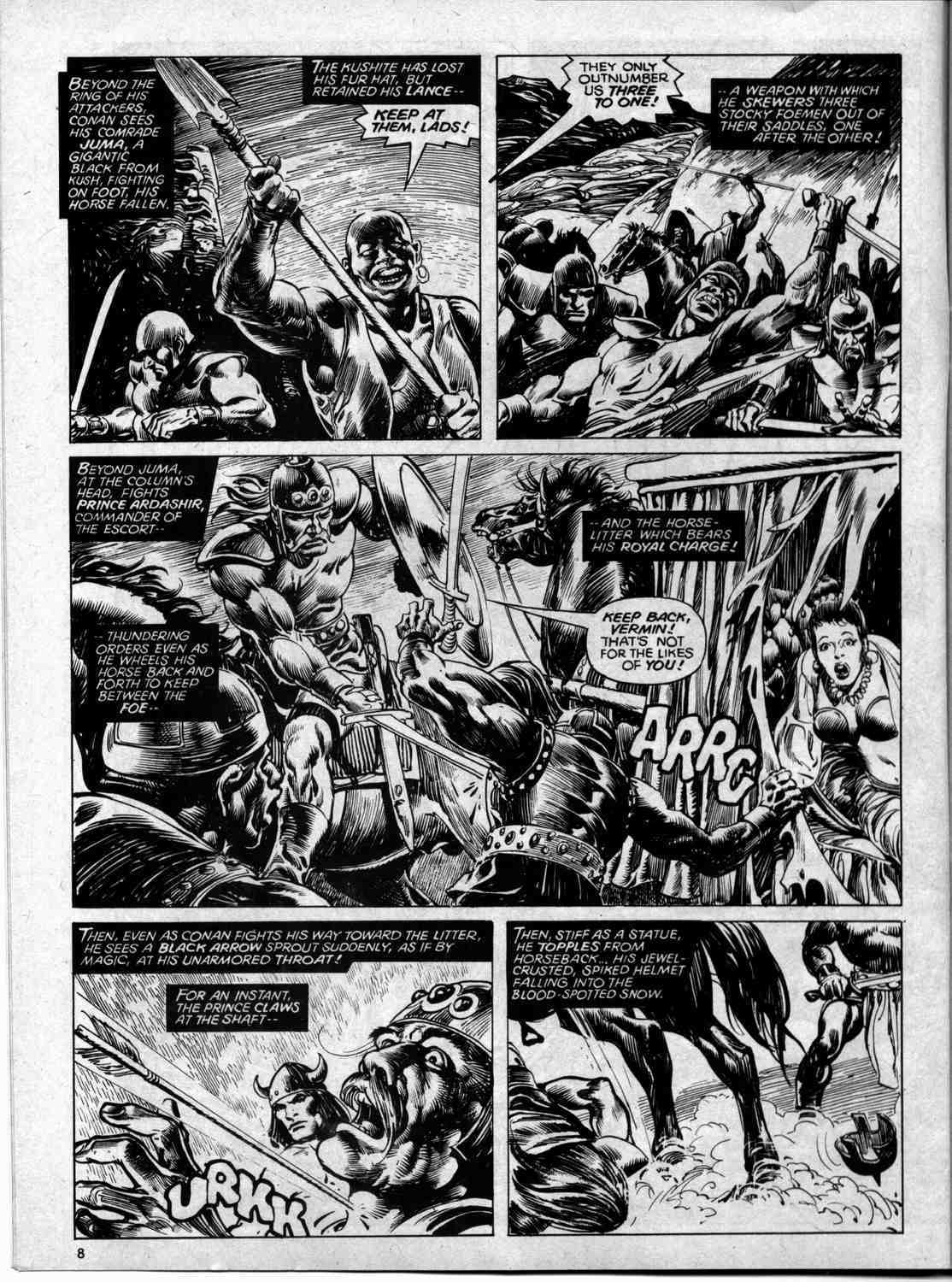 The Savage Sword Of Conan Issue #59 #60 - English 8