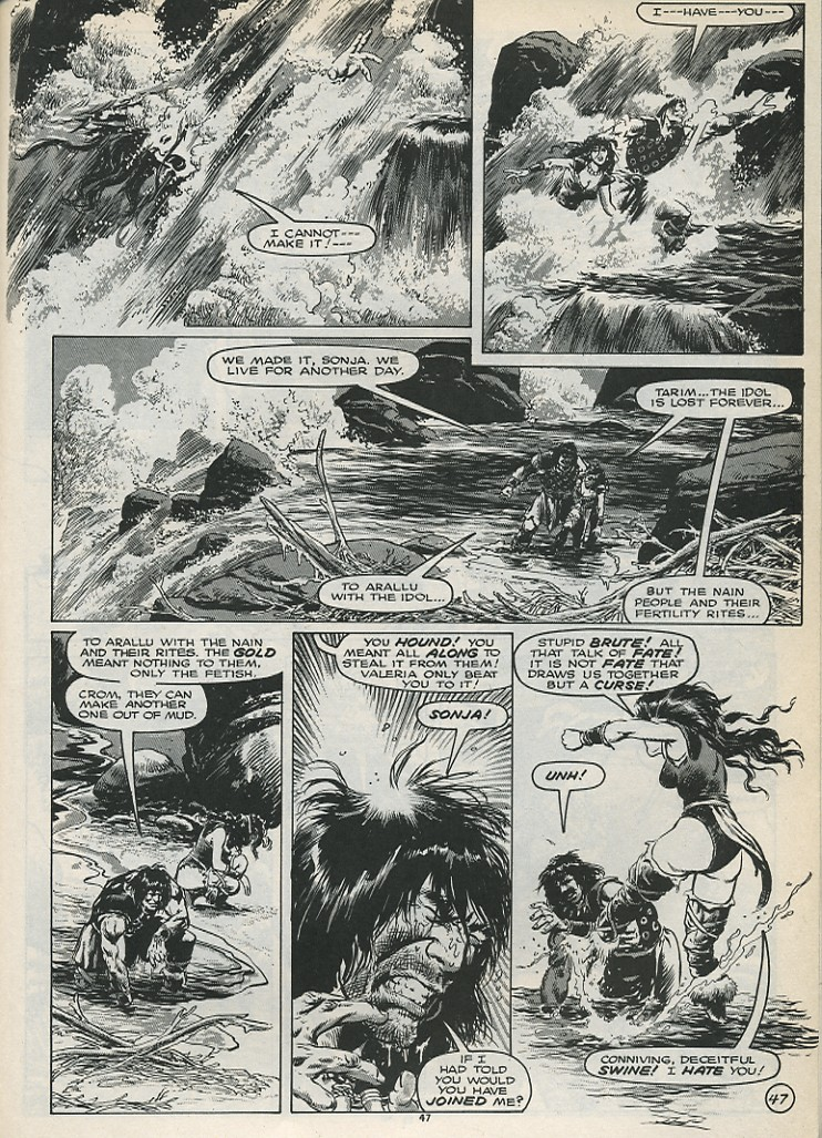 The Savage Sword Of Conan Issue #179 #180 - English 49